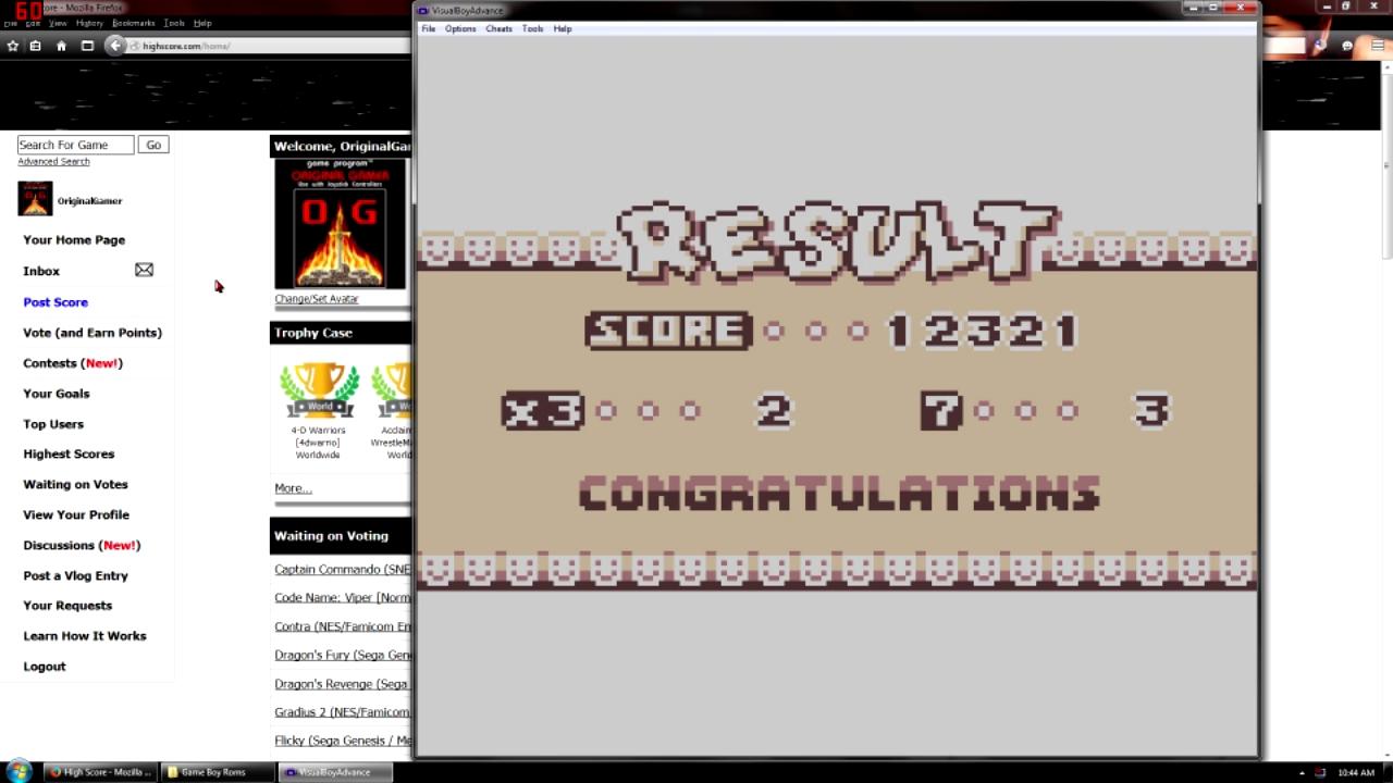 OriginalGamer: Tetris Attack: Endless (Game Boy Emulated) 12,321 points on 2015-09-11 22:09:05