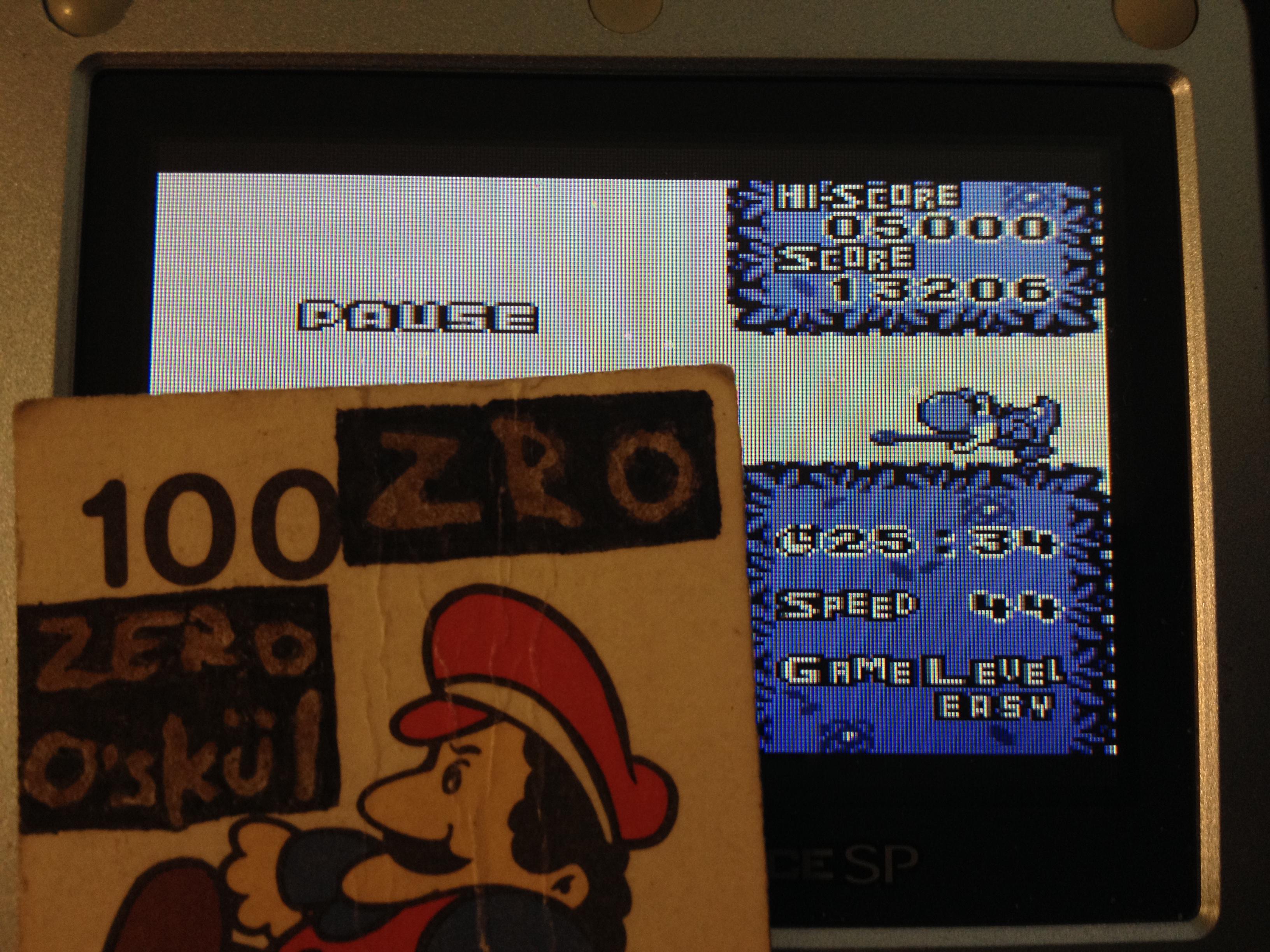 zerooskul: Tetris Attack: Endless (Game Boy) 13,576 points on 2019-05-08 17:10:15