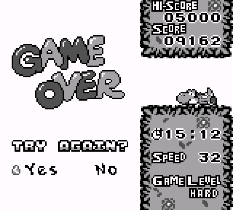 TracyPoff: Tetris Attack: Endless [Hard] (Game Boy Emulated) 9,162 points on 2015-10-10 07:36:58