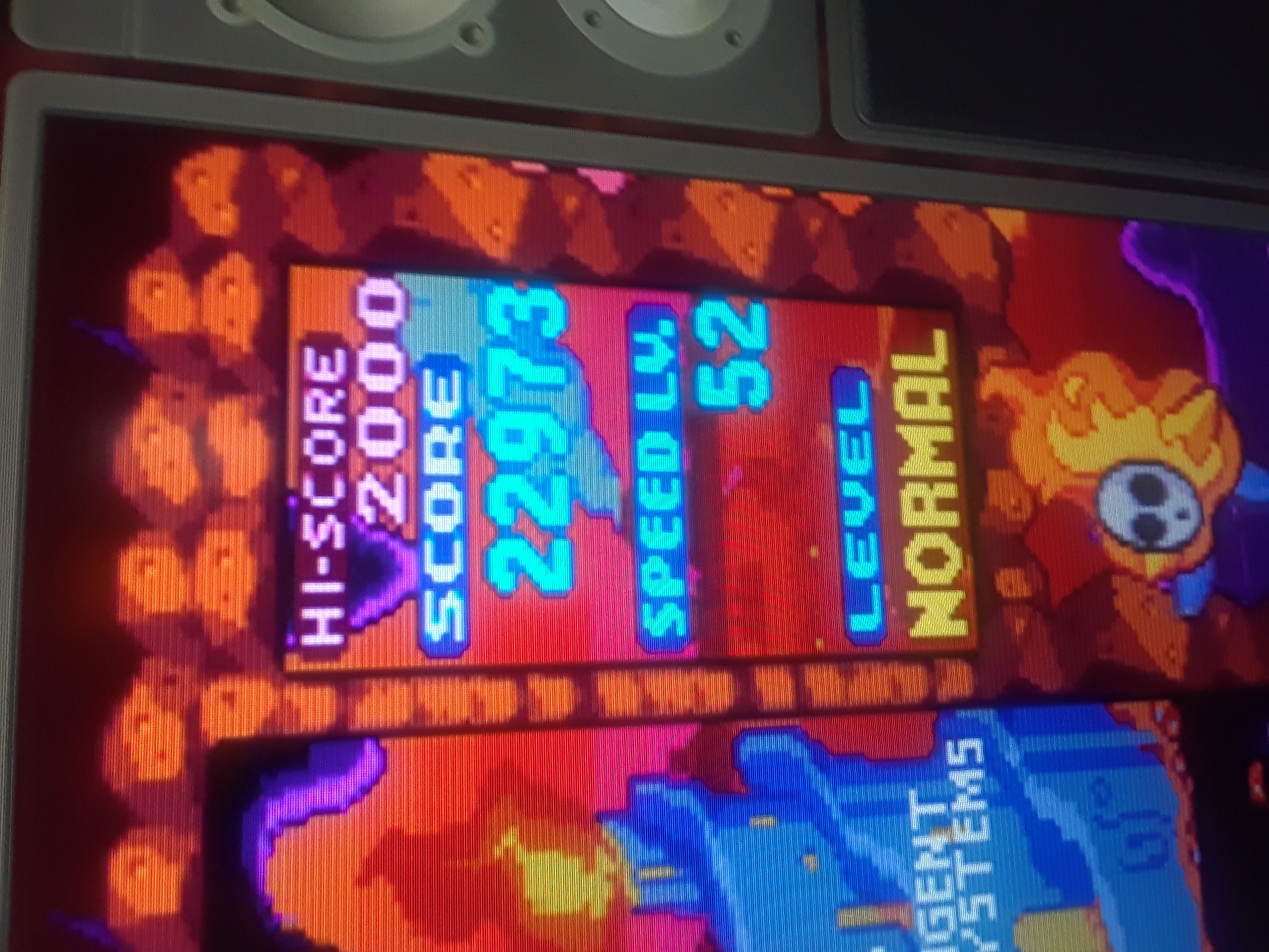 Tetris Attack 22,973 points