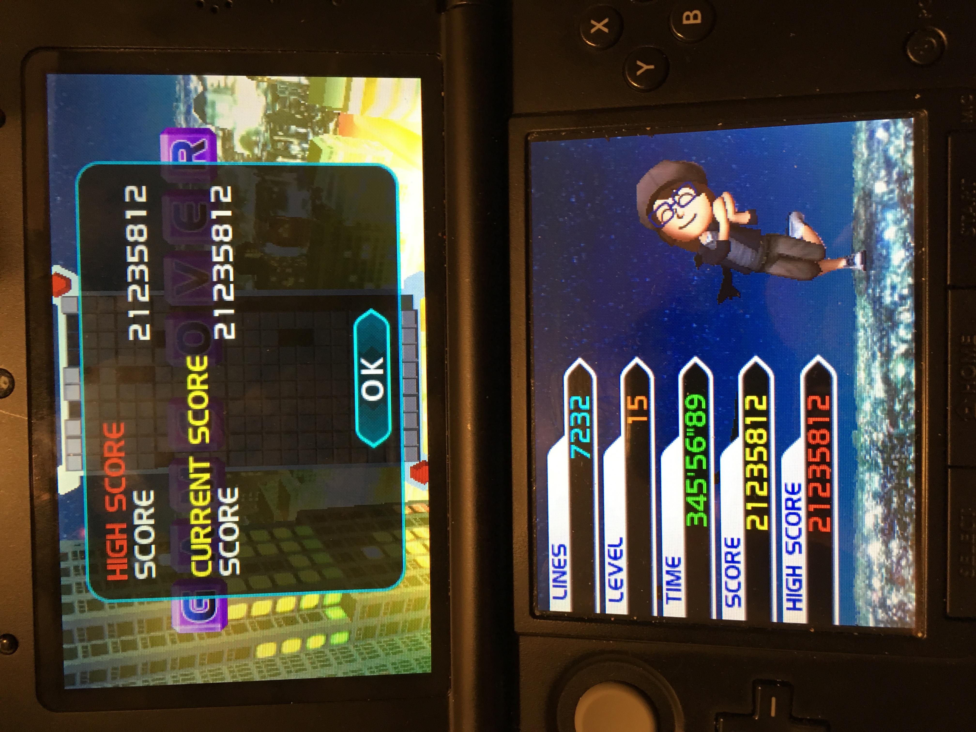 Tetris Axis: Marathon [Endless on] 21,235,812 points