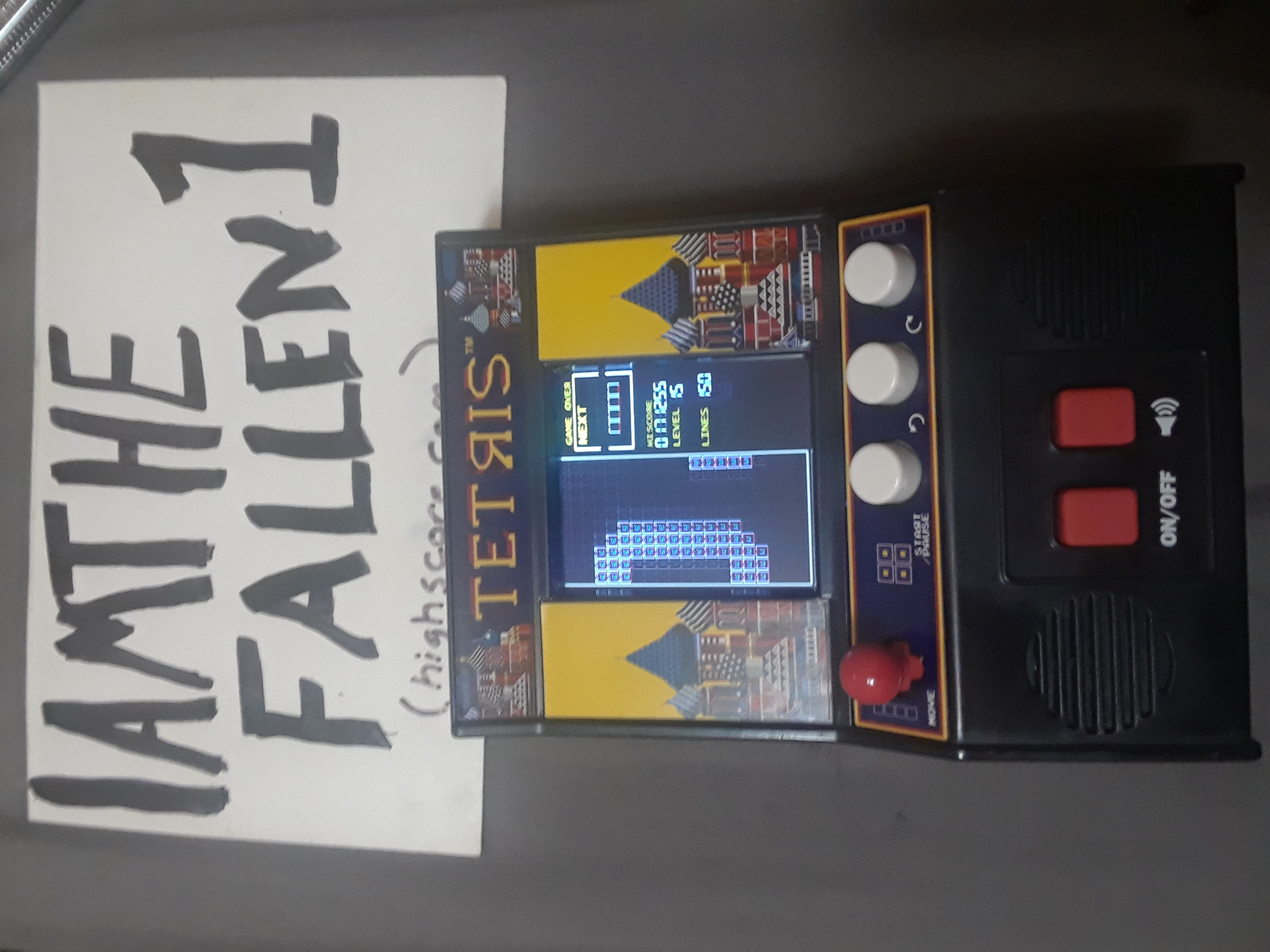 Tetris [Bridge Direct/ Basic Fun LCD] [High: 0] 171,255 points