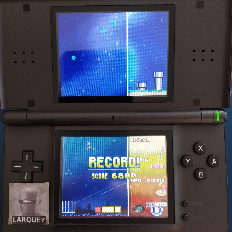 Larquey: Tetris DS: Touch [Level 2] (Nintendo DS) 6,800 points on 2020-09-20 06:36:50