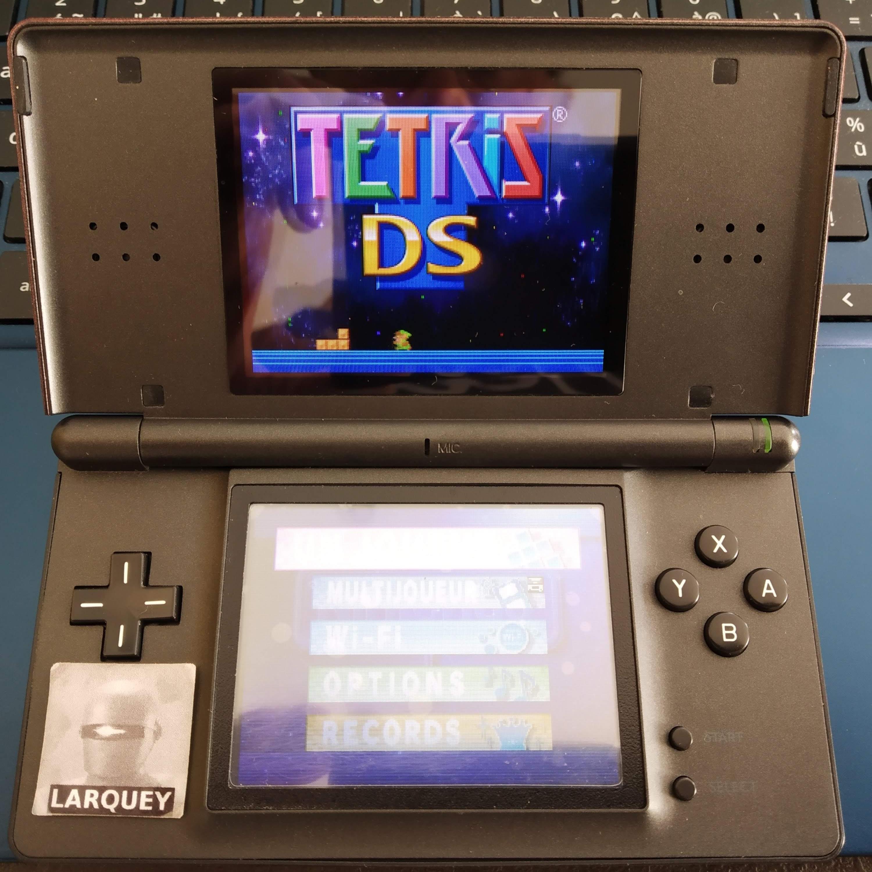 Larquey: Tetris DS: Touch [Level 3] (Nintendo DS) 5,600 points on 2020-09-20 06:39:58