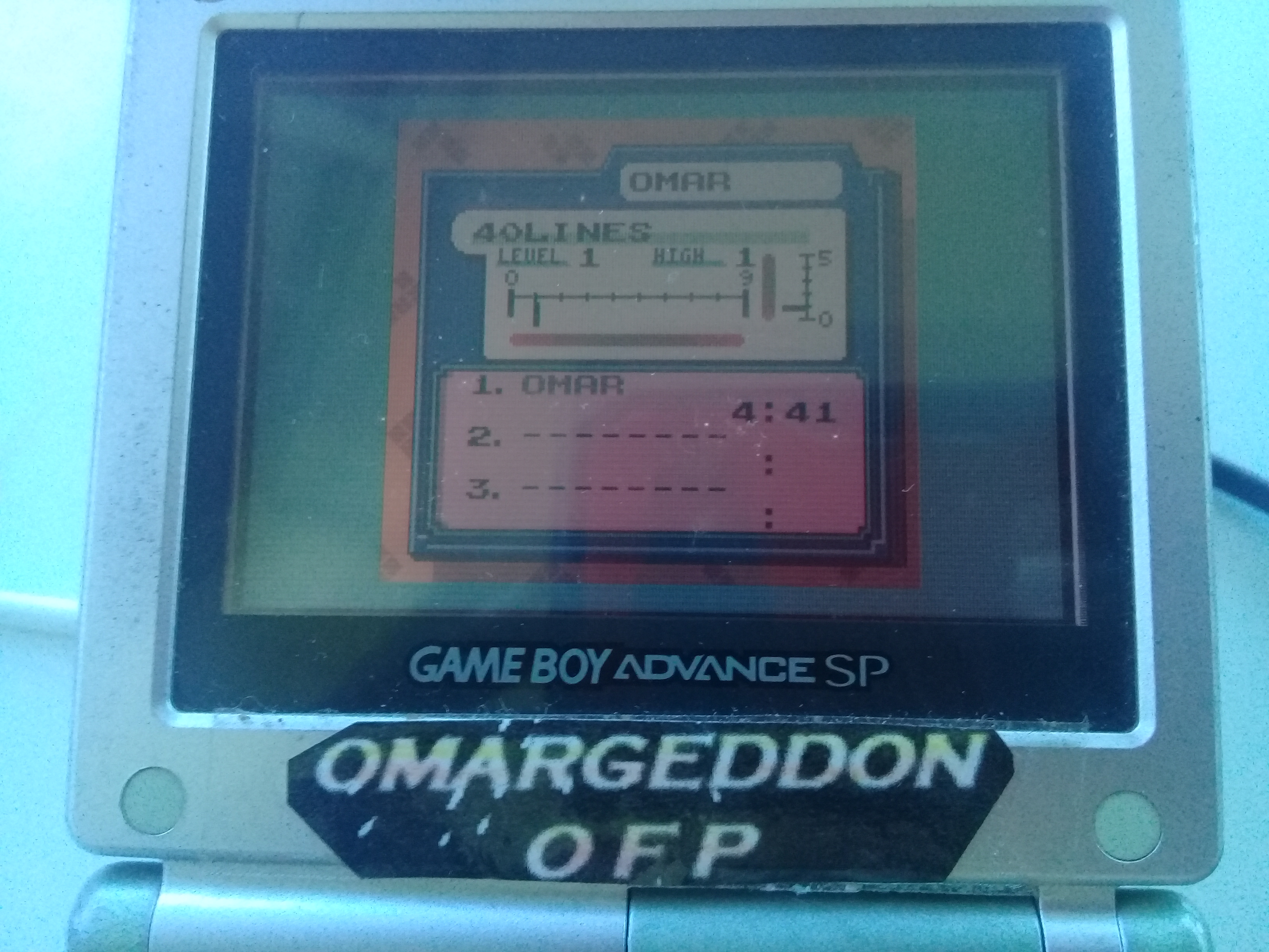 omargeddon: Tetris DX: 40 Lines [Level 1/Height 1] (Game Boy Color) 0:04:41 points on 2019-04-20 16:07:12