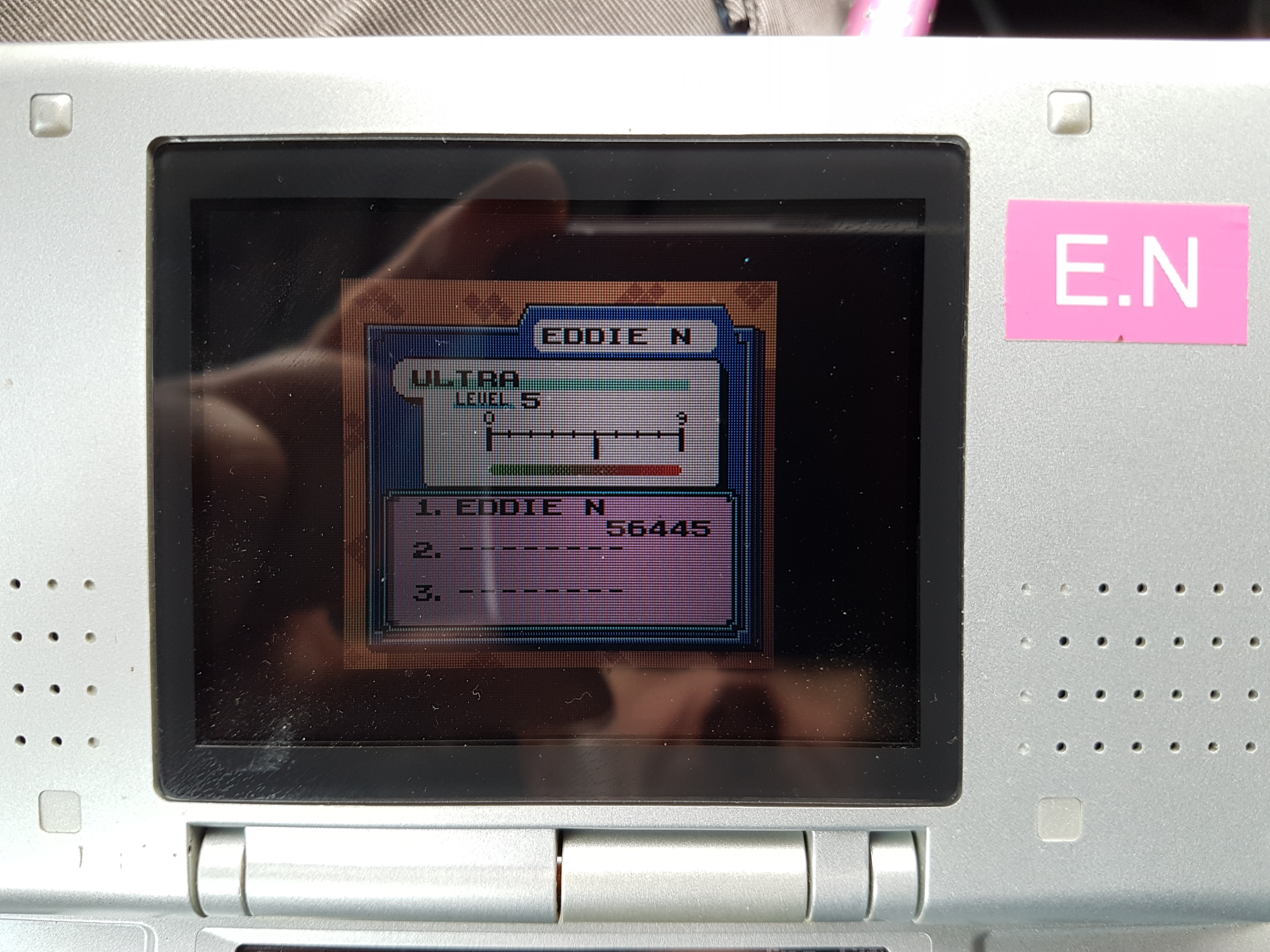 EddieNiceguy: Tetris DX: Ultra [Level 5] (Game Boy Color Emulated) 56,445 points on 2019-02-04 06:03:29