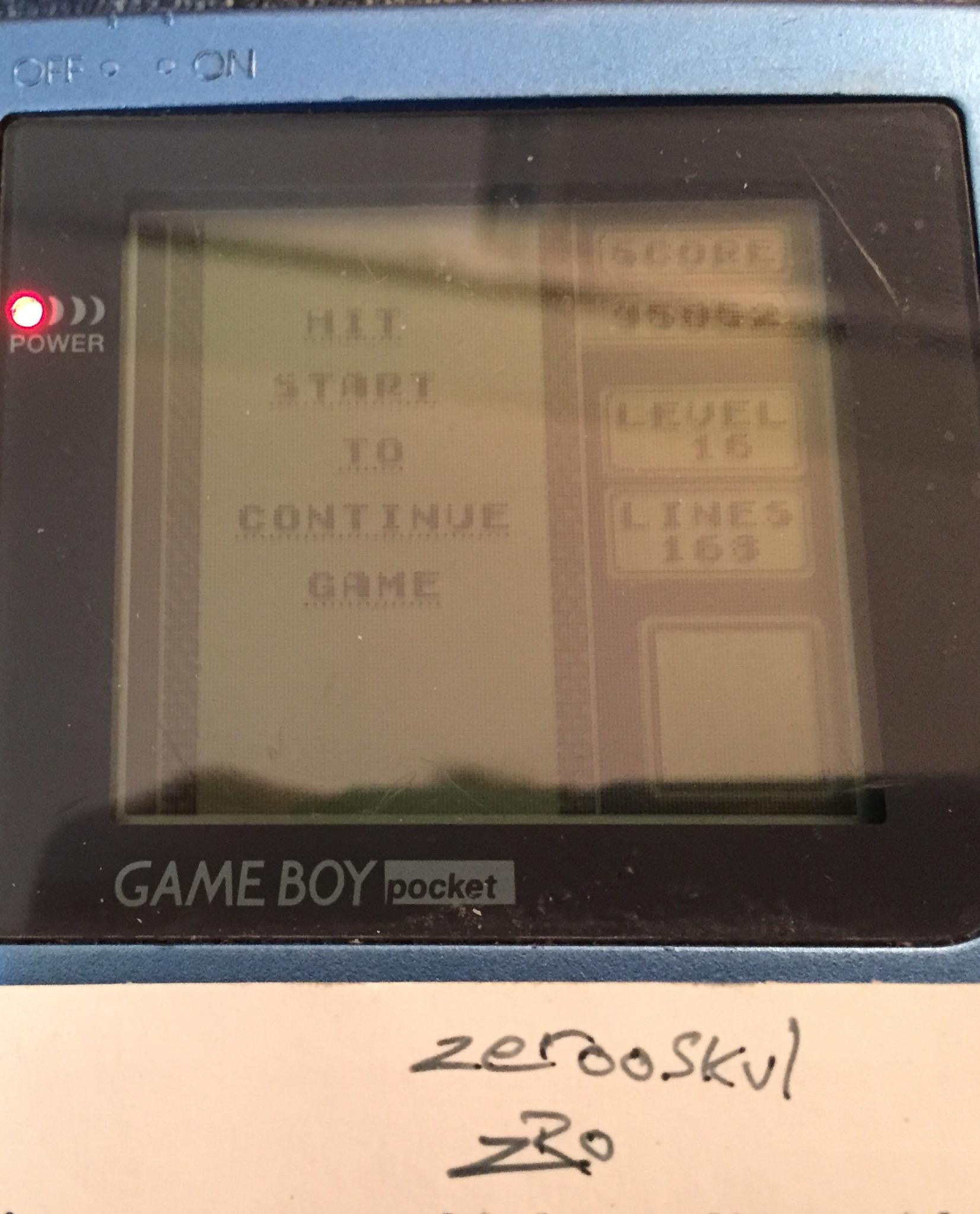 Tetris [Lines] 168 points
