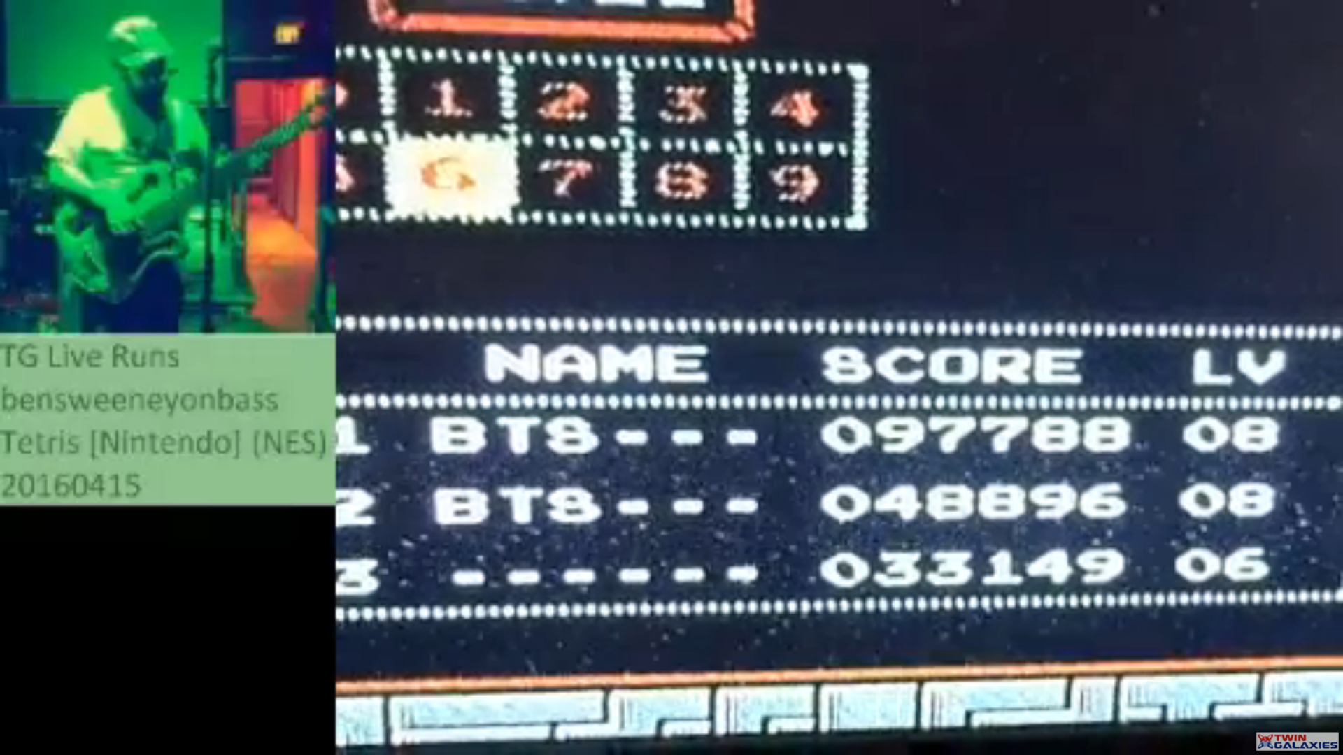 Tetris 97,788 points