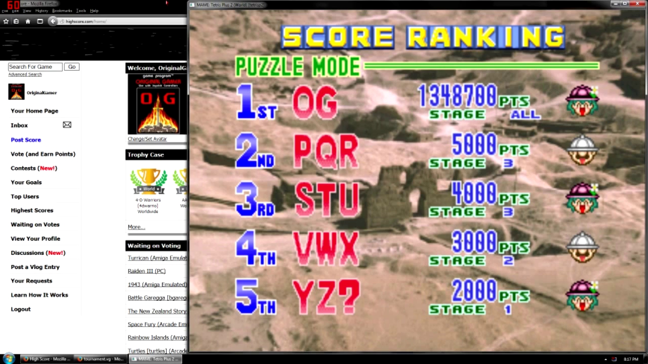 OriginalGamer: Tetris Plus 2 [Puzzle Mode / No continues] (Arcade Emulated / M.A.M.E.) 1,348,700 points on 2015-10-22 15:10:32