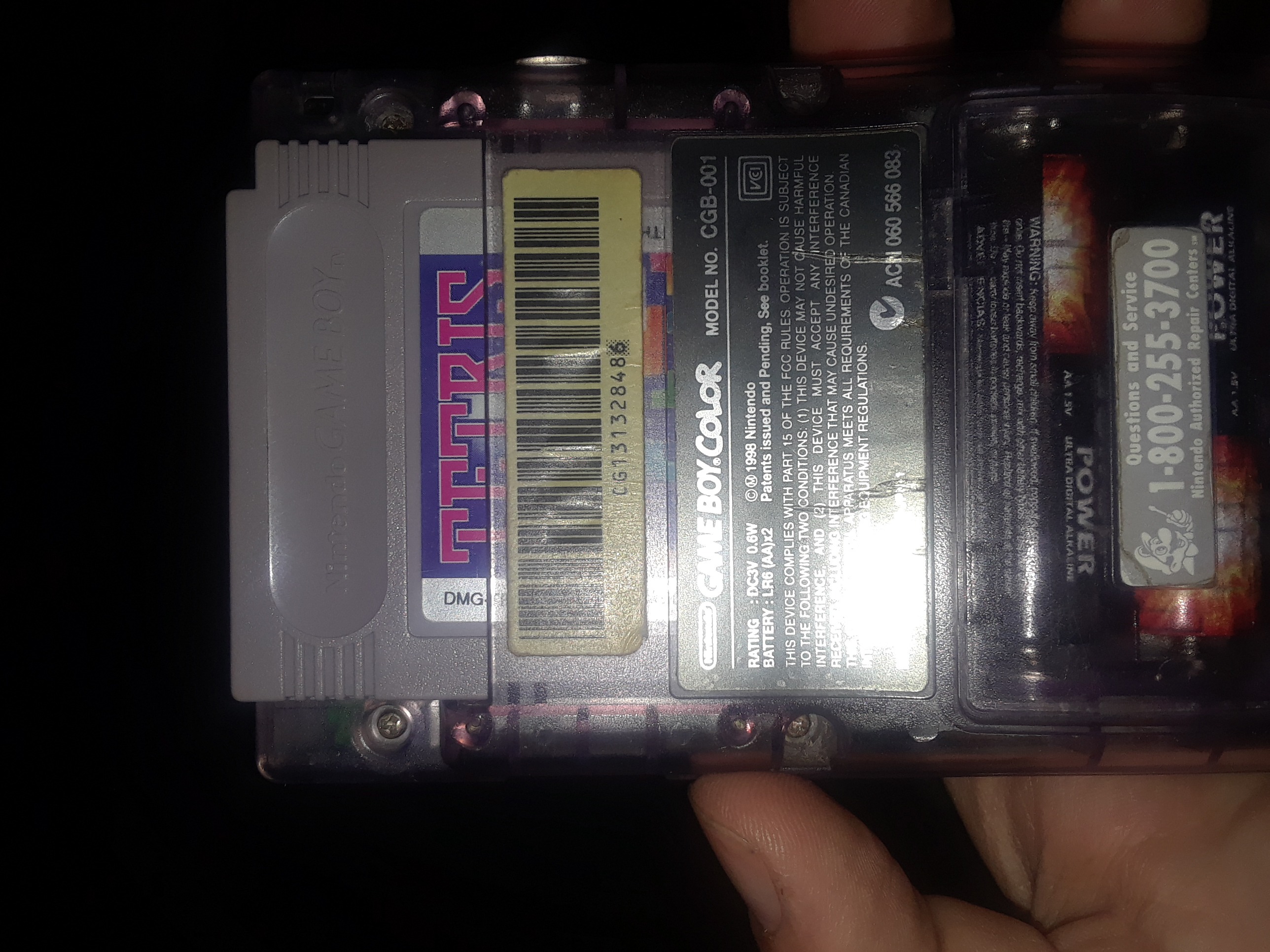 Scorechaserpony: Tetris [Points] (Game Boy) 49,149 points on 2018-04-14 10:14:53