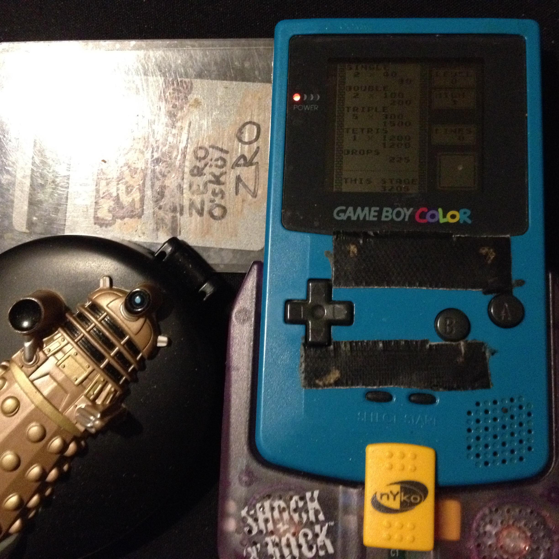 zerooskul: Tetris: Type B [Level 0 / High 3] (Game Boy) 3,205 points on 2019-12-04 22:25:00