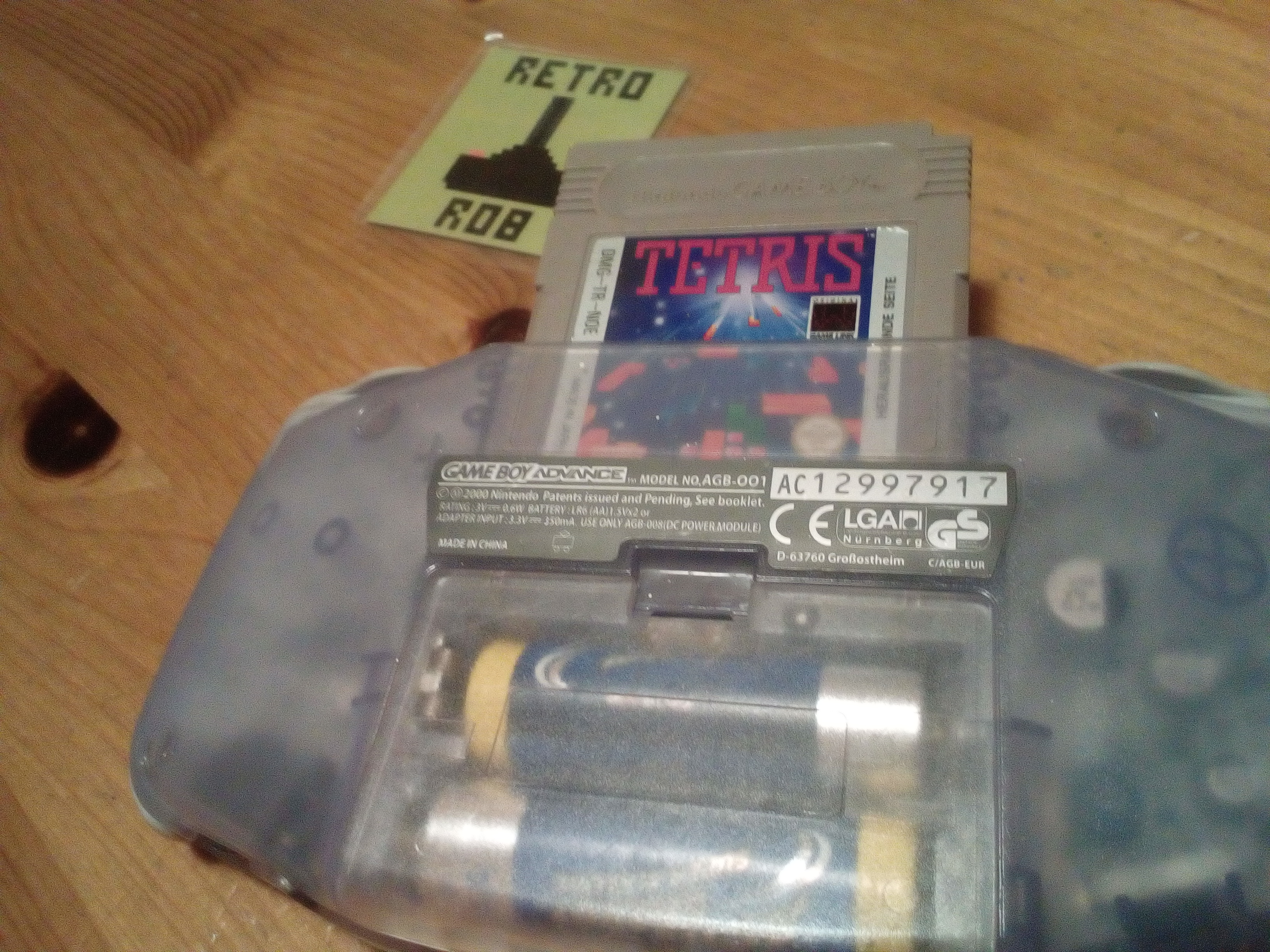RetroRob: Tetris: Type B [Level 6 / High 3] (Game Boy) 30,756 points on 2020-10-11 14:35:33