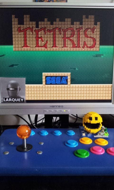 Larquey: Tetris [set 4, Japan, System 16A] [tetris] (Arcade Emulated / M.A.M.E.) 15,337 points on 2017-05-21 05:01:37