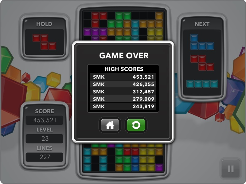 Tetris [tetris.com] 453,521 points