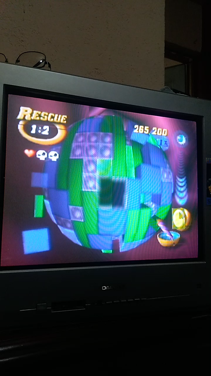 Sdrgio797: Tetrisphere: Rescue (N64 Emulated) 265,200 points on 2020-08-08 22:07:09