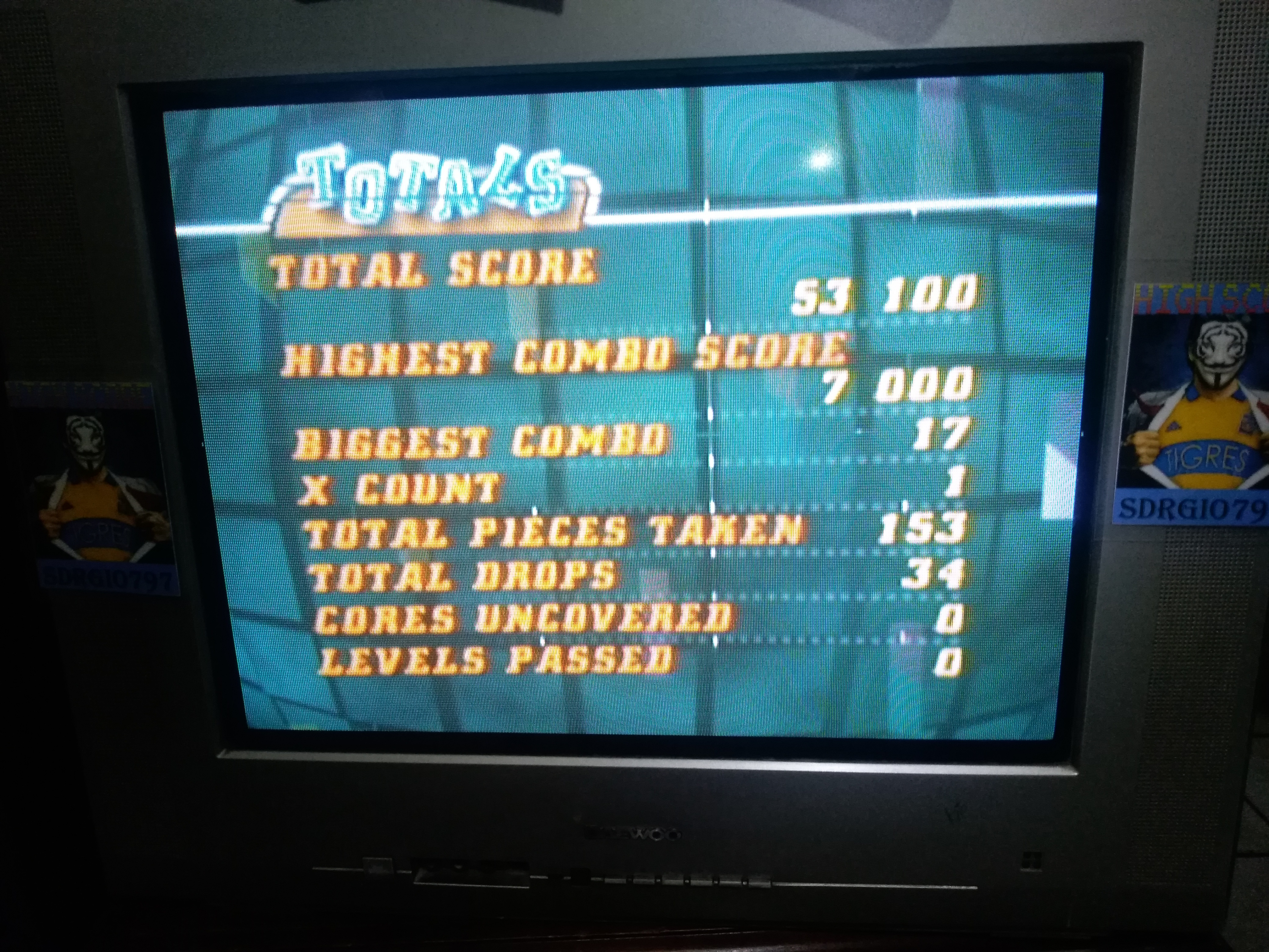 Sdrgio797: Tetrisphere: Time Trial (N64 Emulated) 53,100 points on 2020-08-08 21:17:21