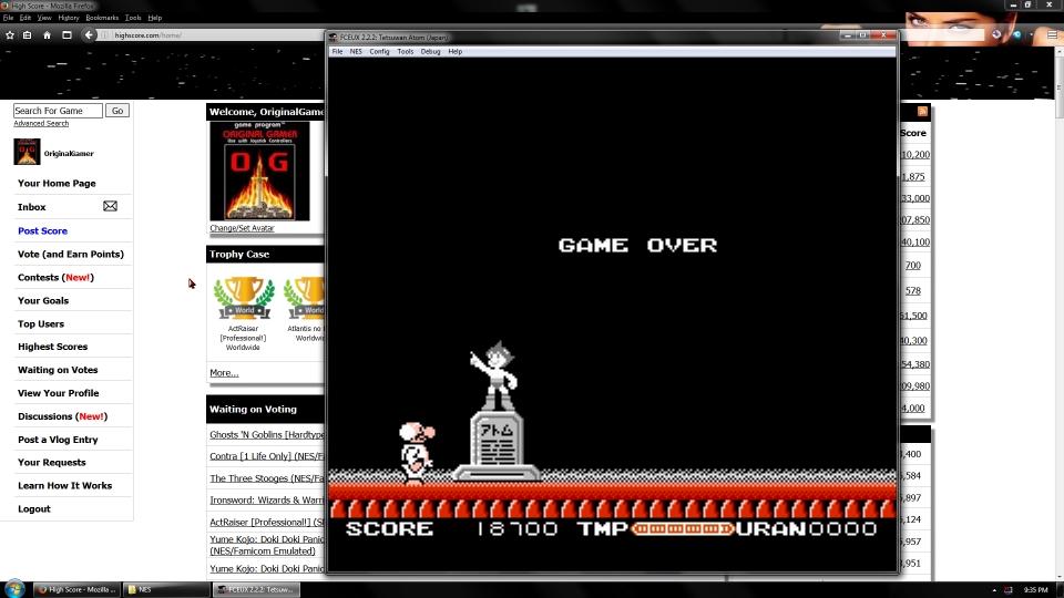 OriginalGamer: Tetsuwan Atom (NES/Famicom Emulated) 18,700 points on 2016-09-19 01:33:07