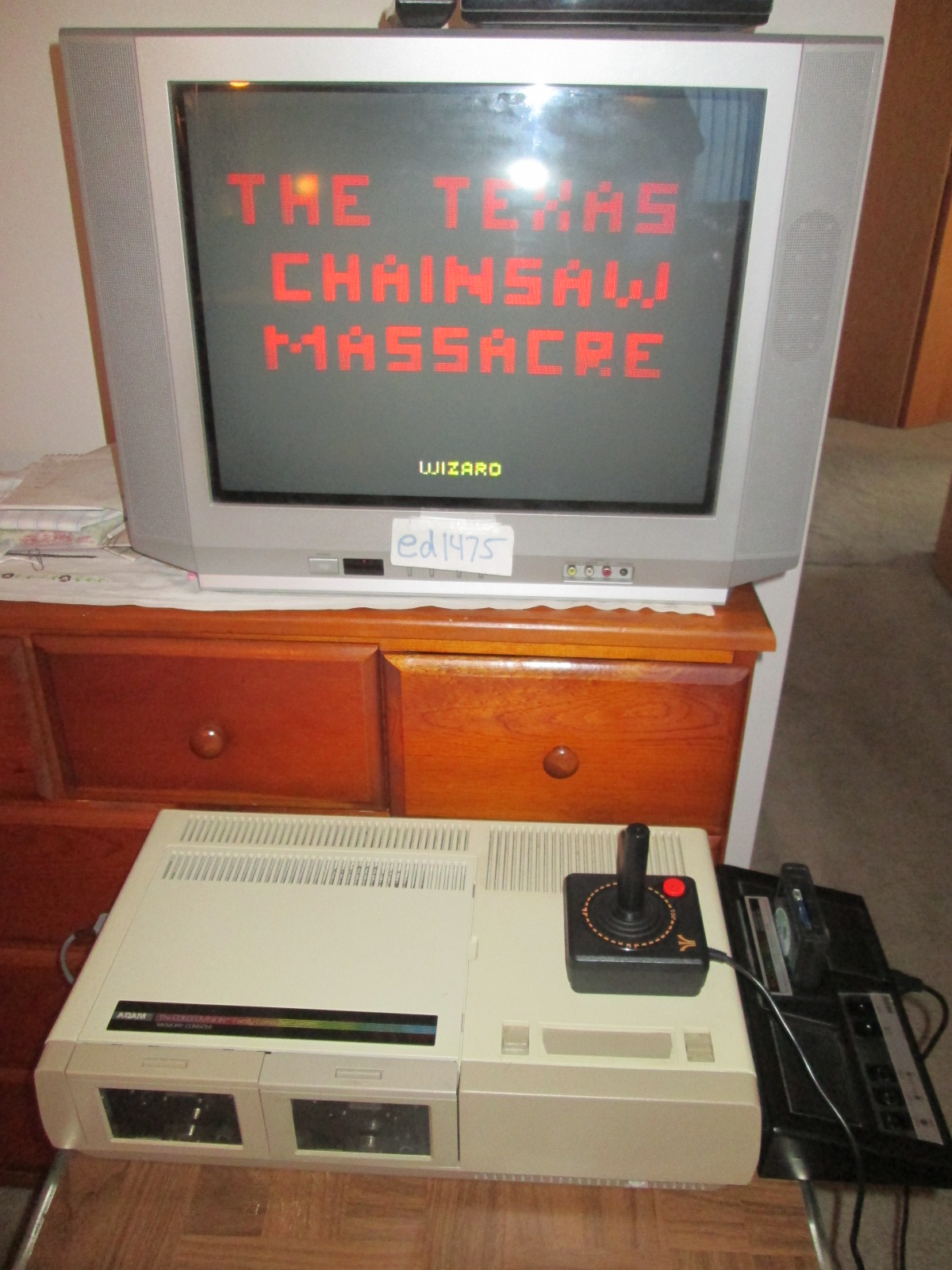 ed1475: Texas Chainsaw Massacre (Atari 2600 Novice/B) 10,000 points on 2016-10-28 18:41:47