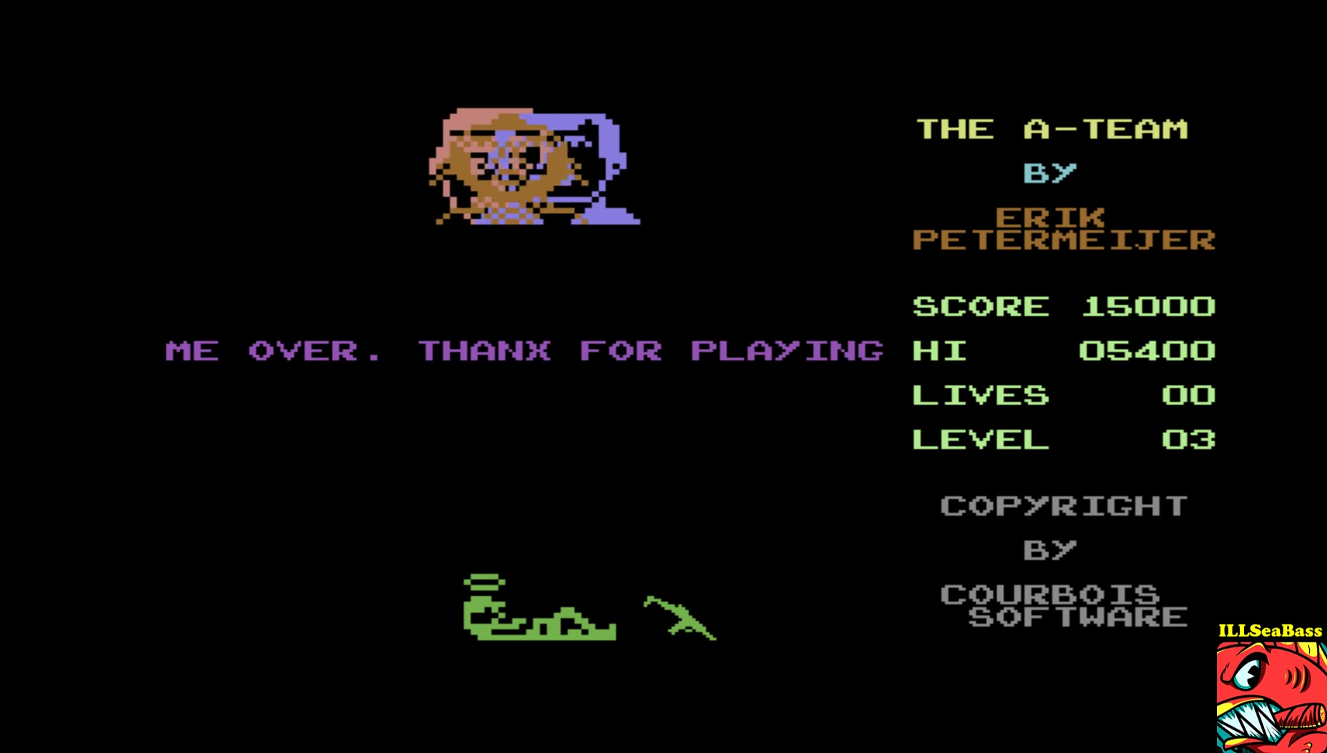 ILLSeaBass: The A-Team (Commodore 64 Emulated) 15,000 points on 2017-04-05 19:58:25