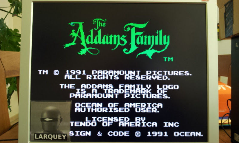 Larquey: The Addams Family (NES/Famicom Emulated) 47,400 points on 2017-04-21 09:02:09