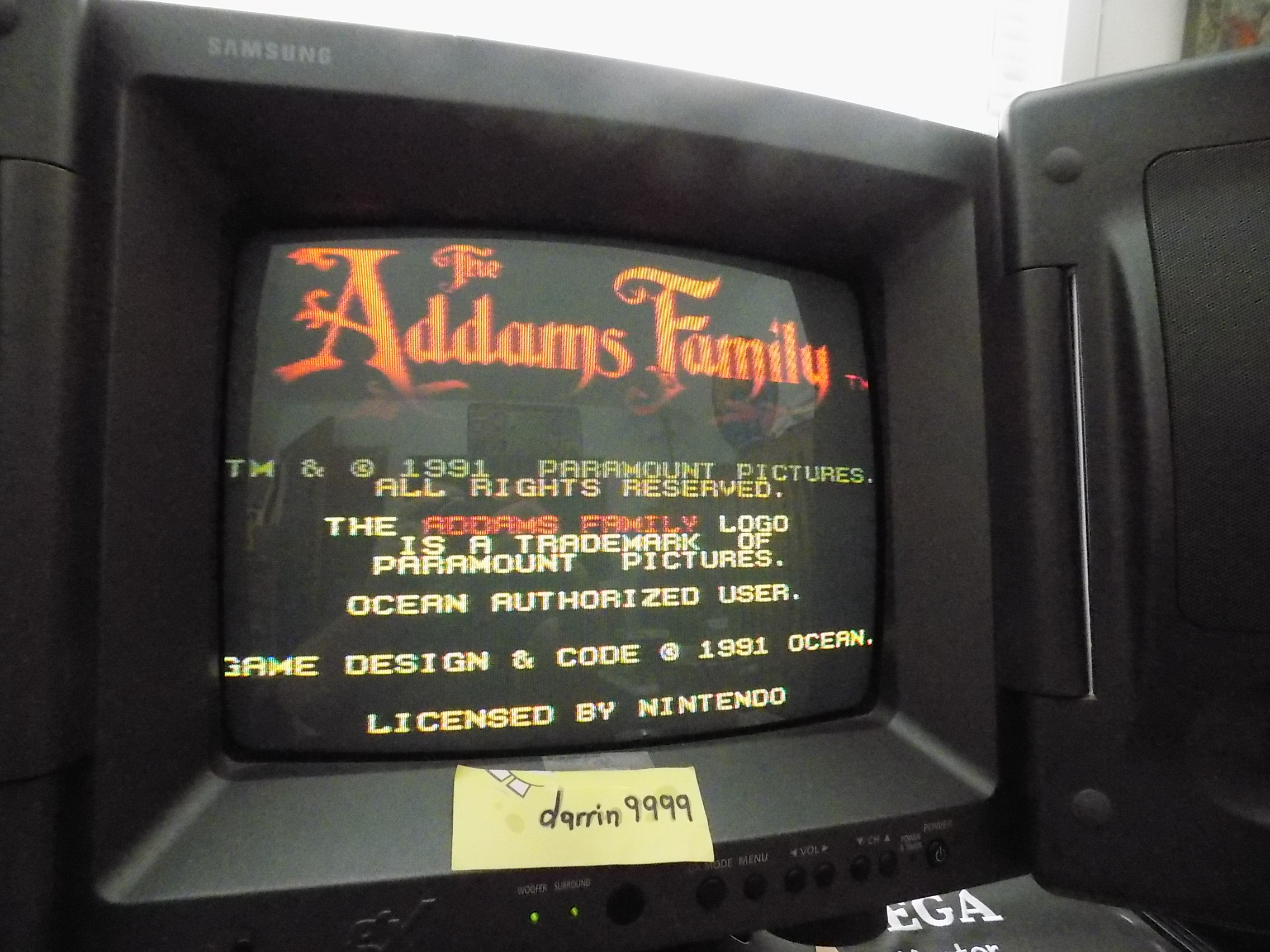 darrin9999: The Addams Family (SNES/Super Famicom) 10,090 points on 2019-06-02 16:25:11