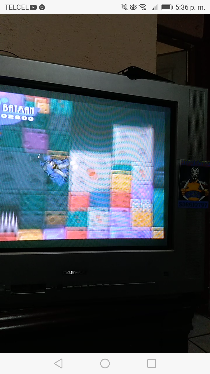 Sdrgio797: The Adventures Of Batman & Robin (SNES/Super Famicom Emulated) 2,800 points on 2020-07-28 20:47:08