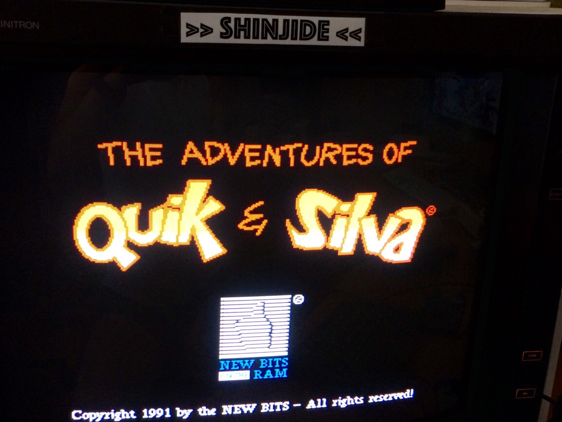 SHiNjide: The Adventures of Quik & Silva (Amiga) 14,100 points on 2015-07-25 11:48:05