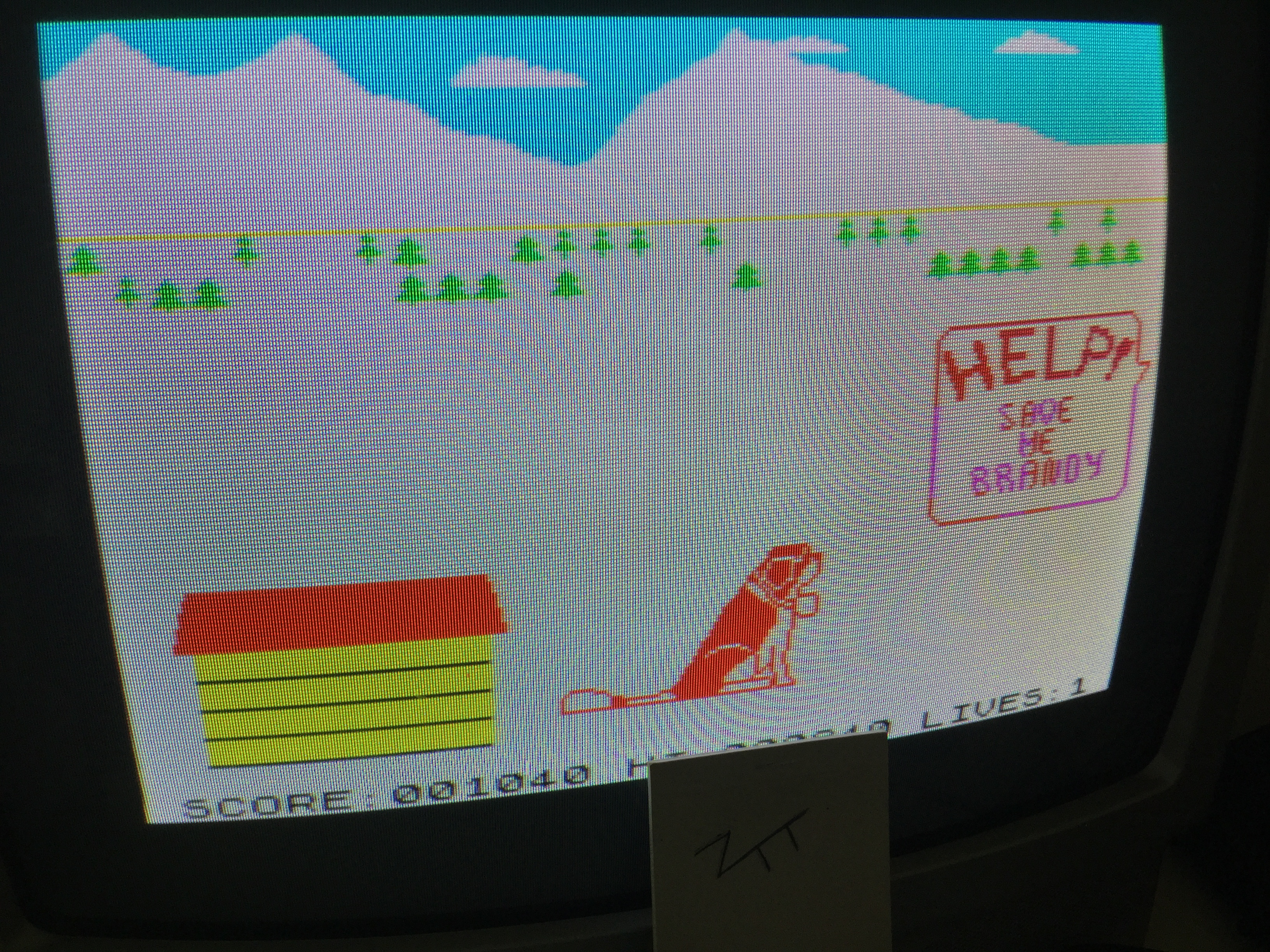 Frankie: The Adventures of St. Bernard (ZX Spectrum) 1,040 points on 2017-06-04 04:06:38