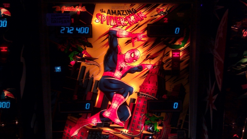 ichigokurosaki1991: The Amazing Spider-Man (Pinball: 3 Balls) 272,400 points on 2016-04-05 01:04:38