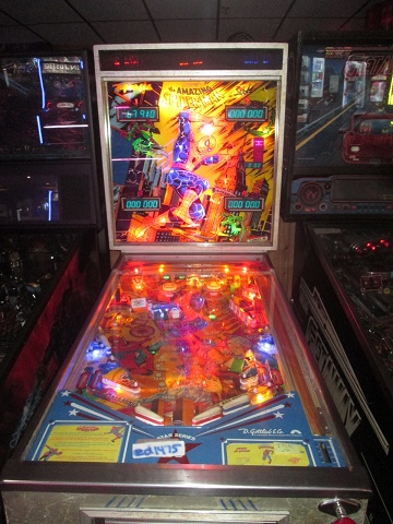 ed1475: The Amazing Spider-Man (Pinball: 3 Balls) 67,910 points on 2019-07-12 12:51:56