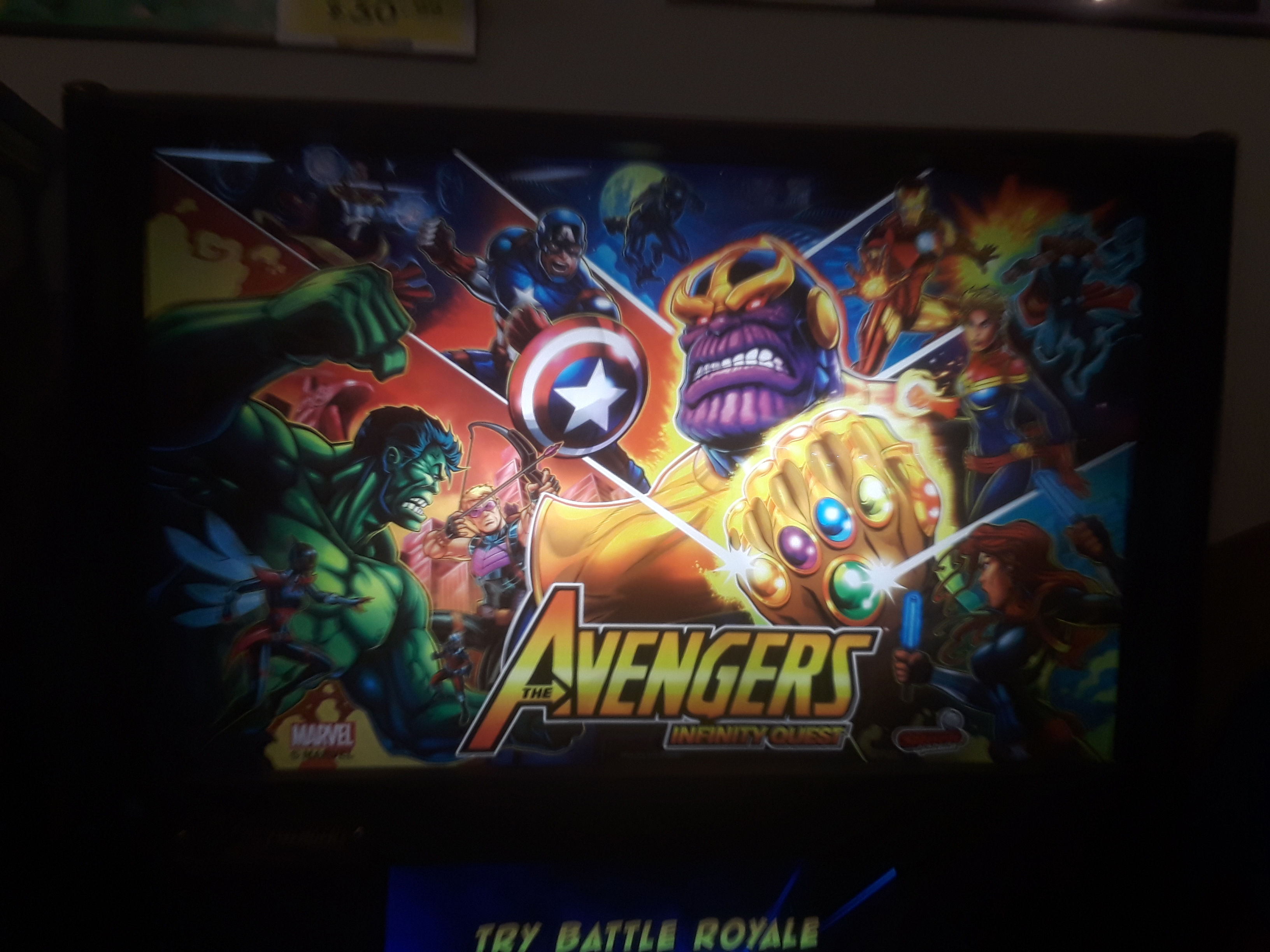 The Avengers [Pro] 19,956,640 points