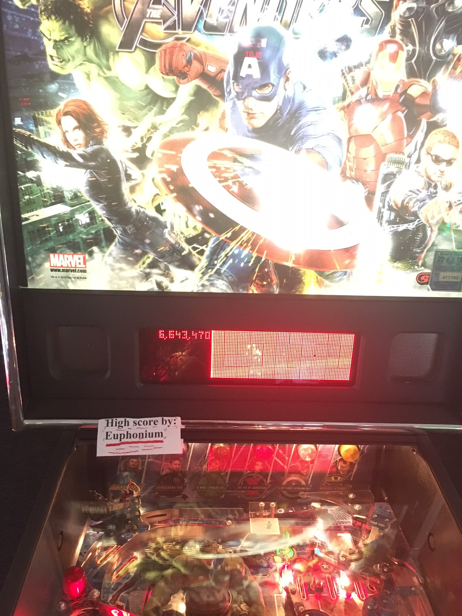 The Avengers [Pro] 6,643,470 points