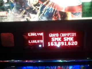 TheGalagaKing: The Avengers [Pro] (Pinball: 3 Balls) 163,891,620 points on 2019-03-08 21:38:24