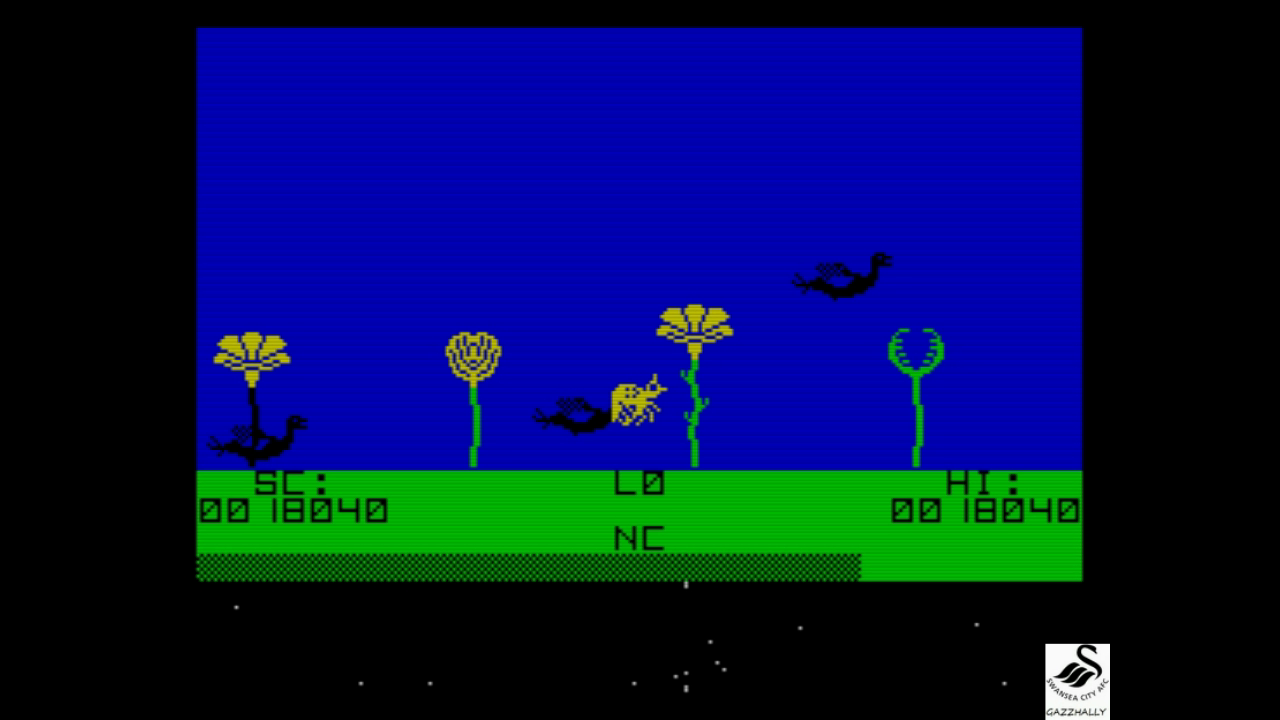 gazzhally: The Birds and the Bees (ZX Spectrum Emulated) 18,040 points on 2017-07-25 02:53:06