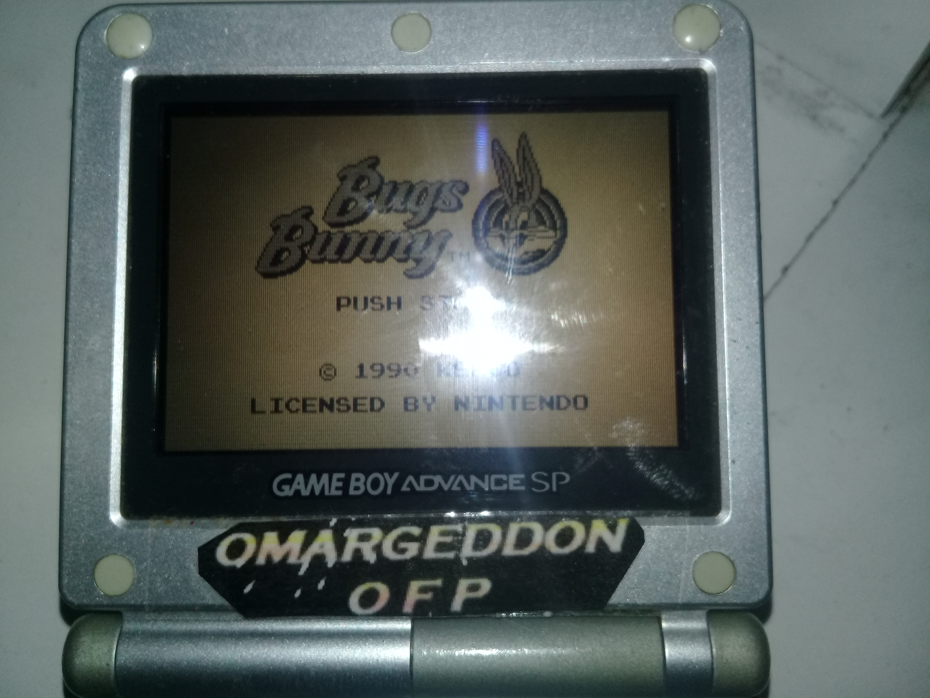 omargeddon: The Bugs Bunny Crazy Castle (Game Boy) 23,000 points on 2019-04-19 23:49:43