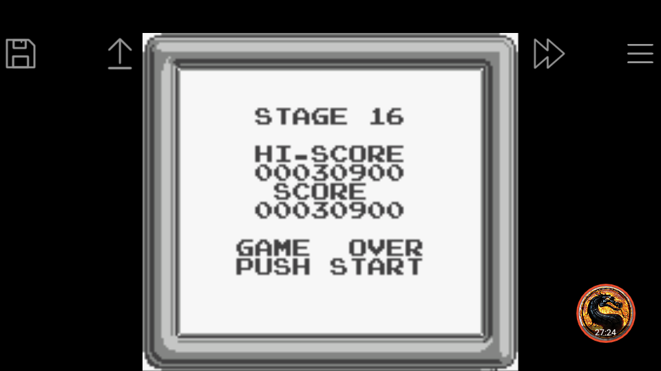 omargeddon: The Bugs Bunny Crazy Castle (Game Boy Emulated) 30,900 points on 2019-04-20 05:52:15