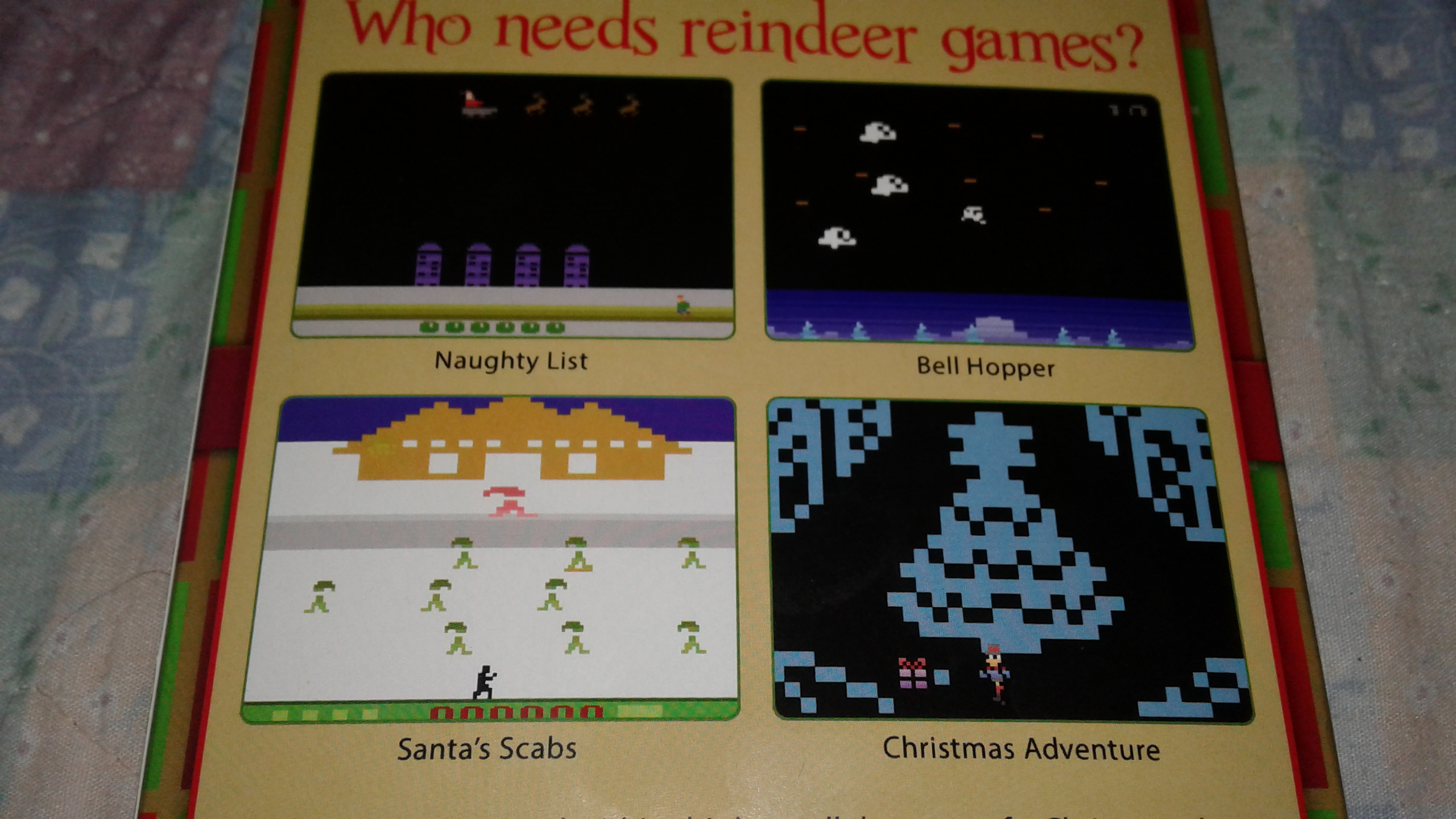 Mark: The Byte Before Christmas: Naughty List (Atari 2600) 4,235 points on 2019-04-02 00:35:46