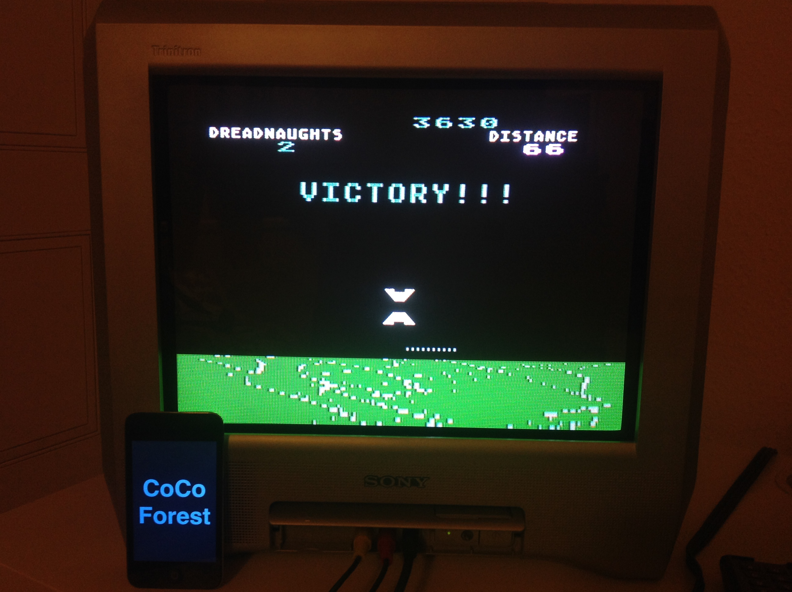 CoCoForest: The Dreadnaught Factor (Atari 5200) 3,630 points on 2015-11-10 11:49:59