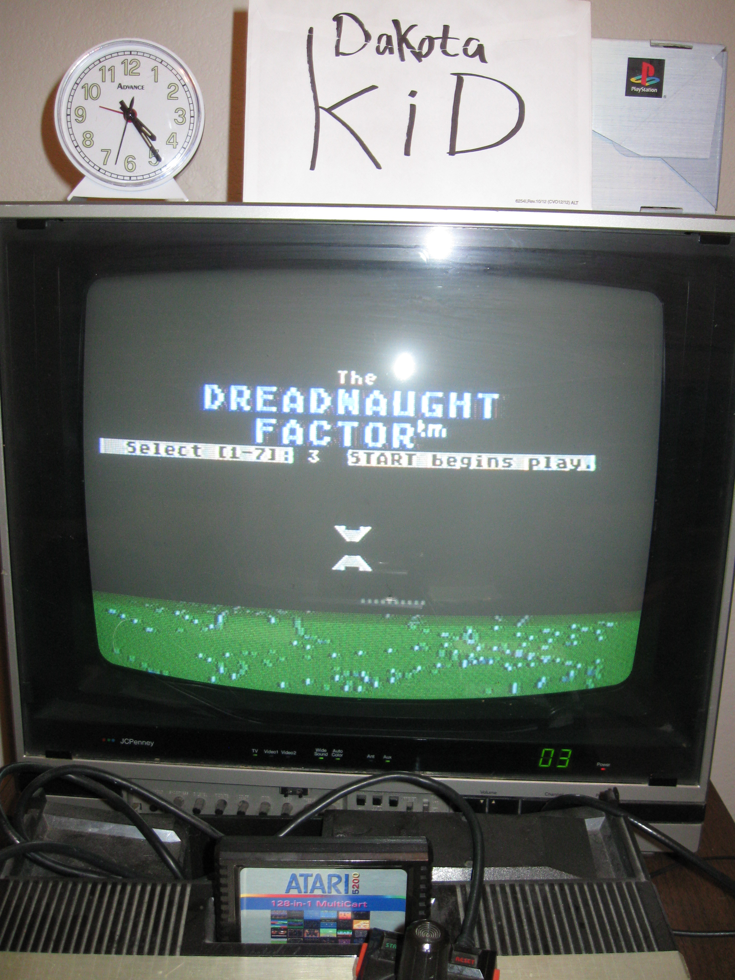 DakotaKid: The Dreadnaught Factor (Atari 5200) 4,593 points on 2016-04-14 19:12:20
