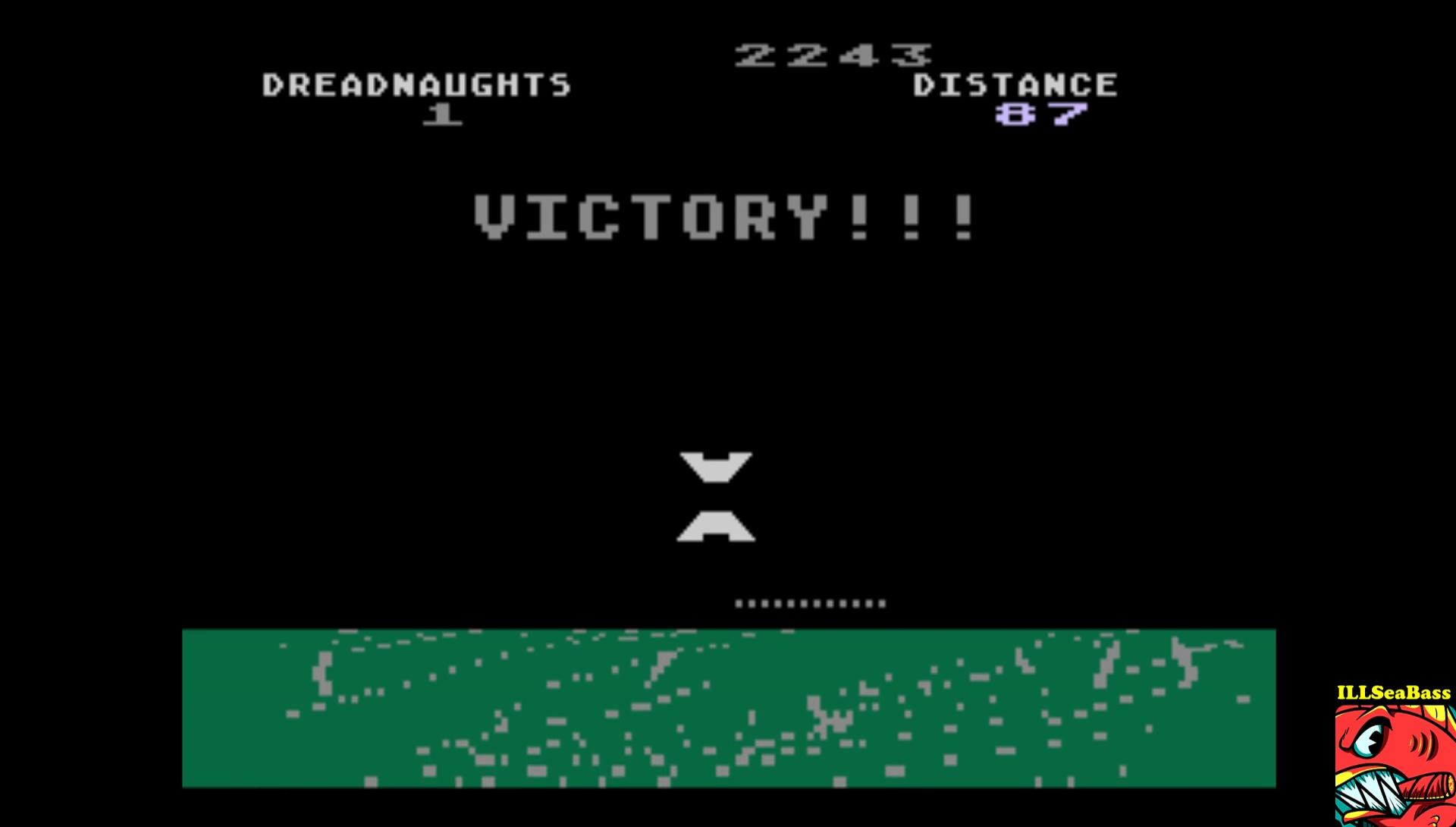 ILLSeaBass: The Dreadnaught Factor (Atari 5200 Emulated) 2,243 points on 2017-02-21 21:12:31