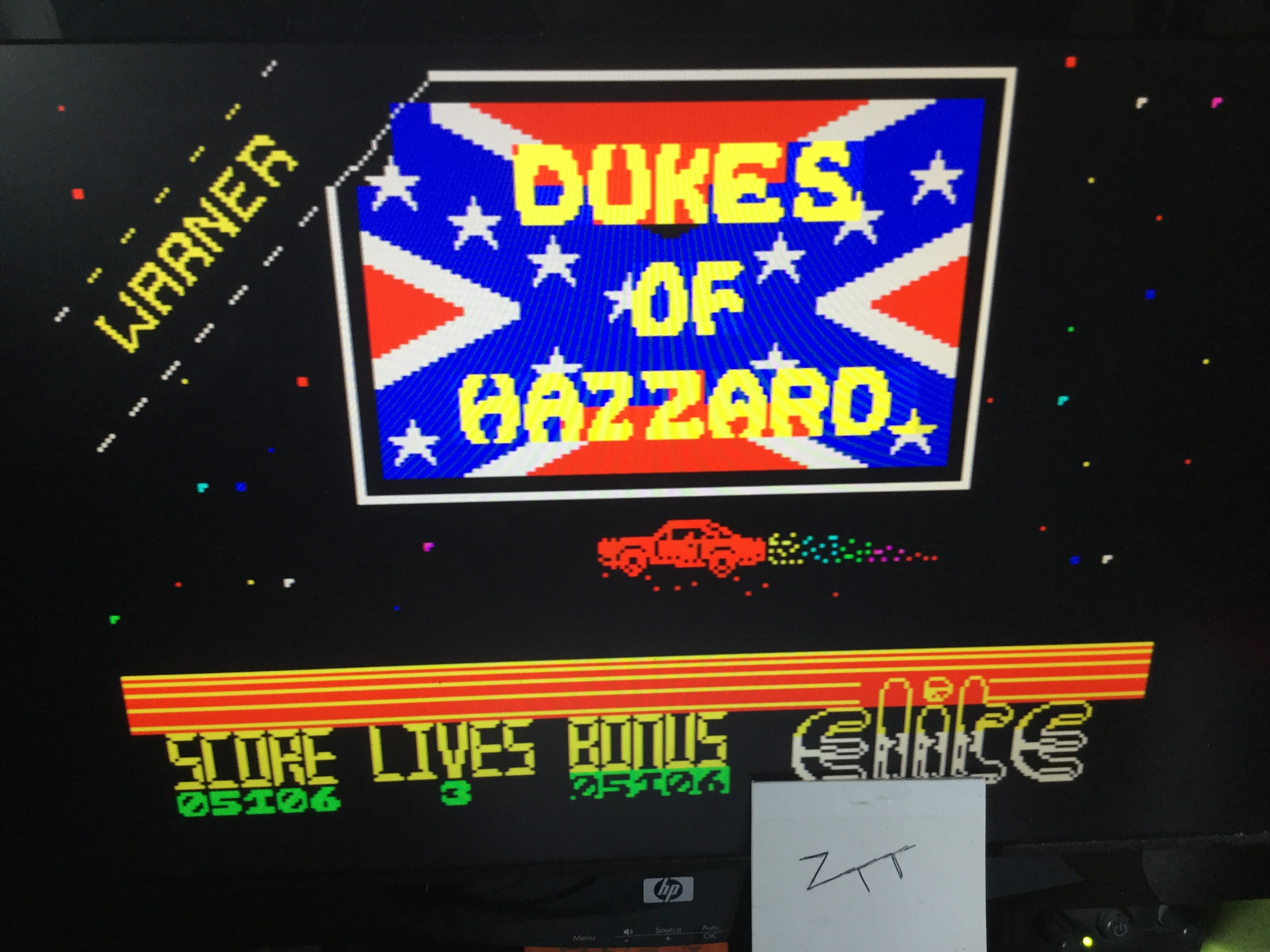 Frankie: The Dukes of Hazzard (ZX Spectrum Emulated) 5,106 points on 2019-08-11 02:00:53