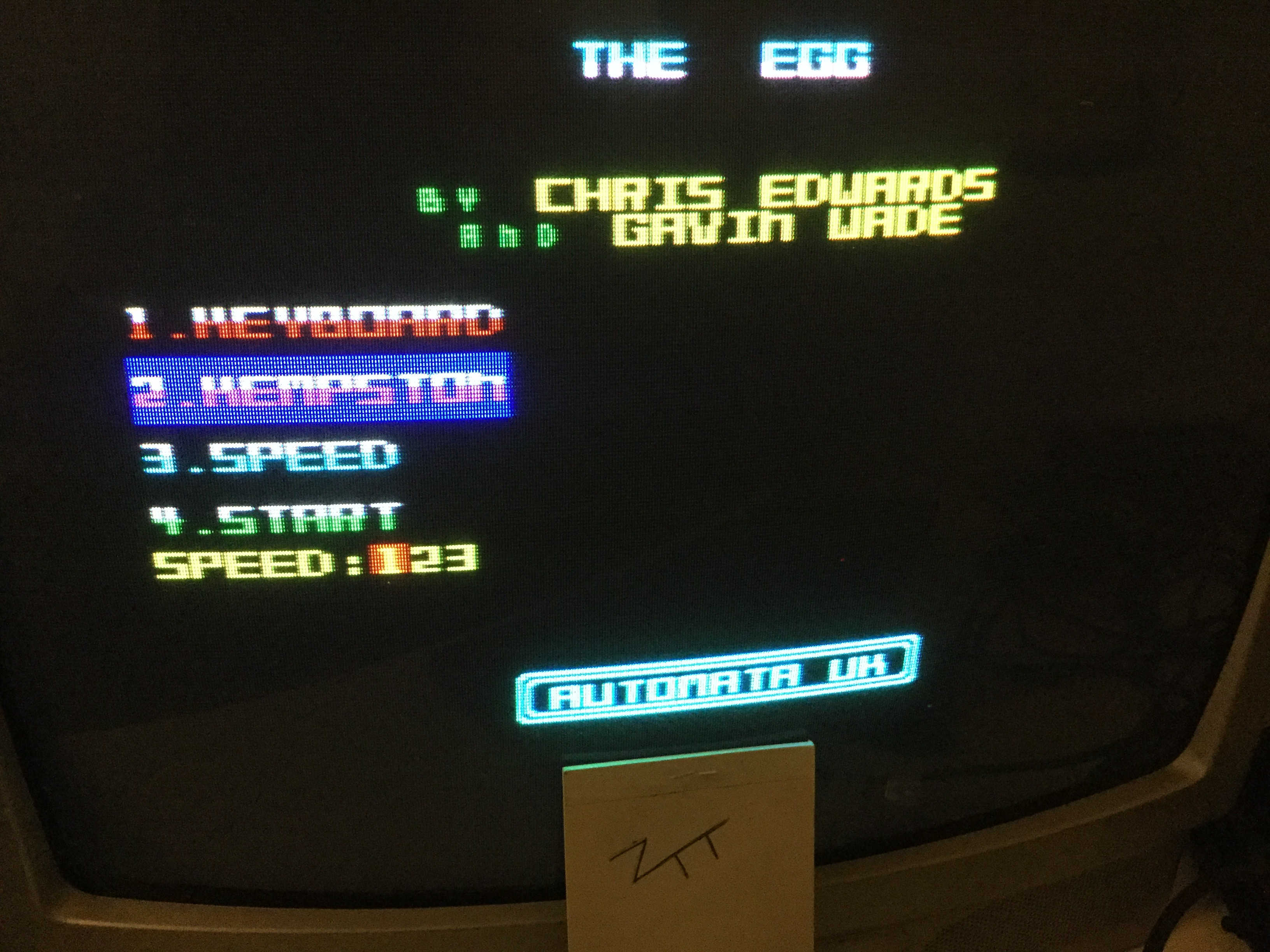 Frankie: The Egg [Automata] [Speed 1] (ZX Spectrum) 238 points on 2019-09-13 16:40:39