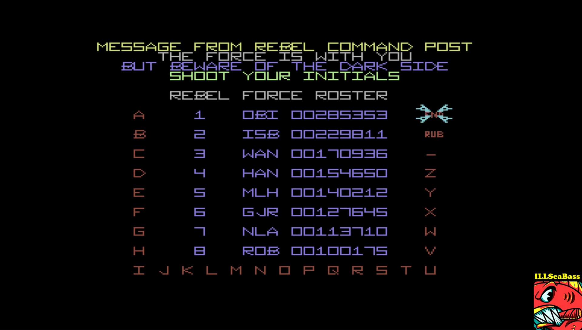 ILLSeaBass: The Empire Strikes Back [Wave 1: Easy] (Commodore 64 Emulated) 229,811 points on 2017-04-25 20:57:55