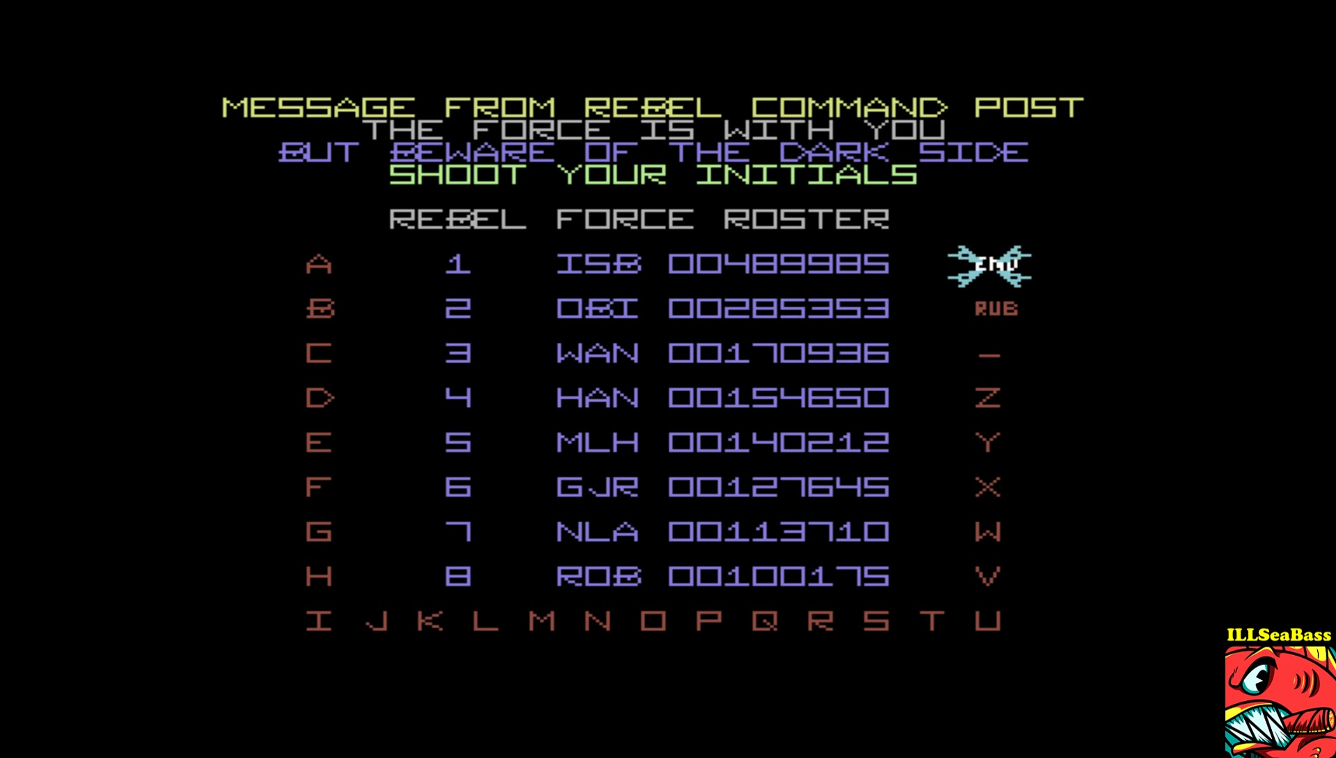 ILLSeaBass: The Empire Strikes Back [Wave 2: Medium] (Commodore 64 Emulated) 489,985 points on 2017-04-26 22:39:02