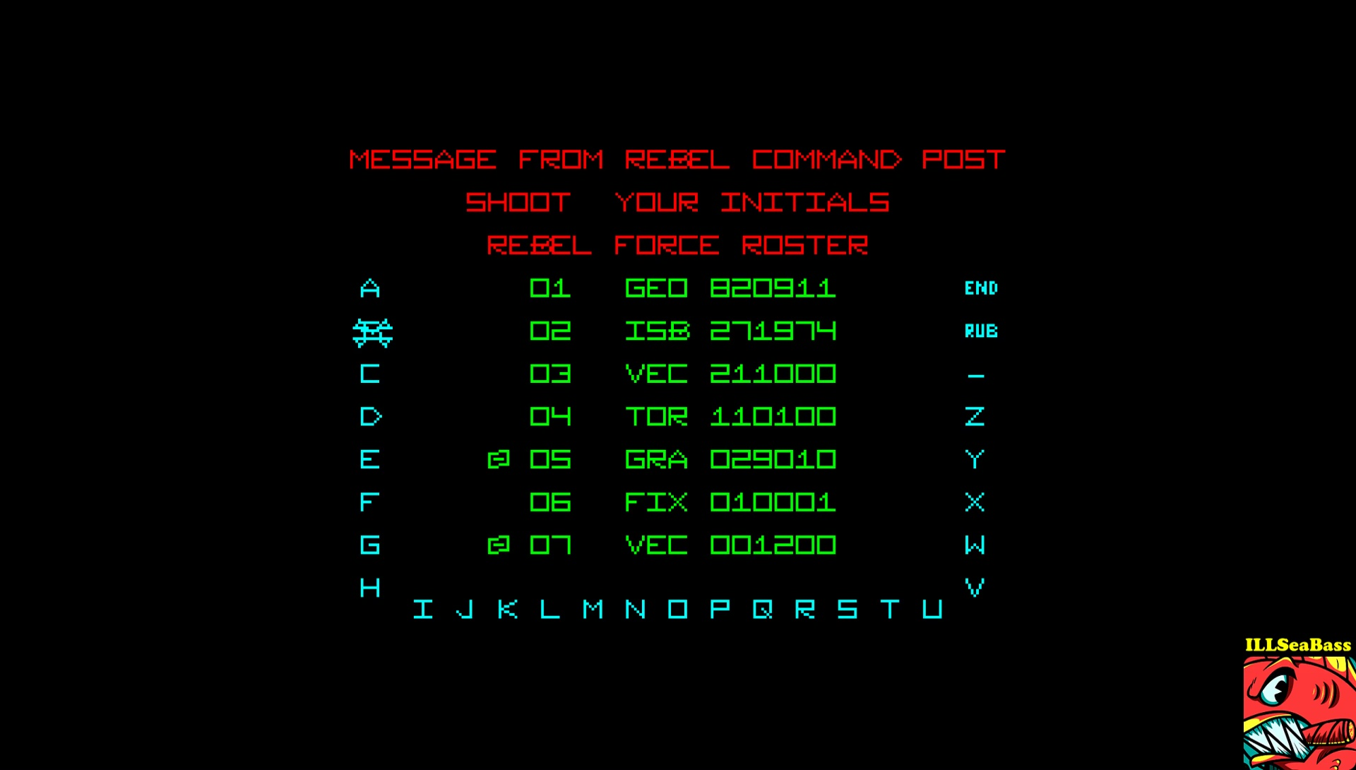 ILLSeaBass: The Empire Strikes Back [Wave 3 - Hard] (Amstrad CPC Emulated) 271,974 points on 2017-02-24 08:51:43
