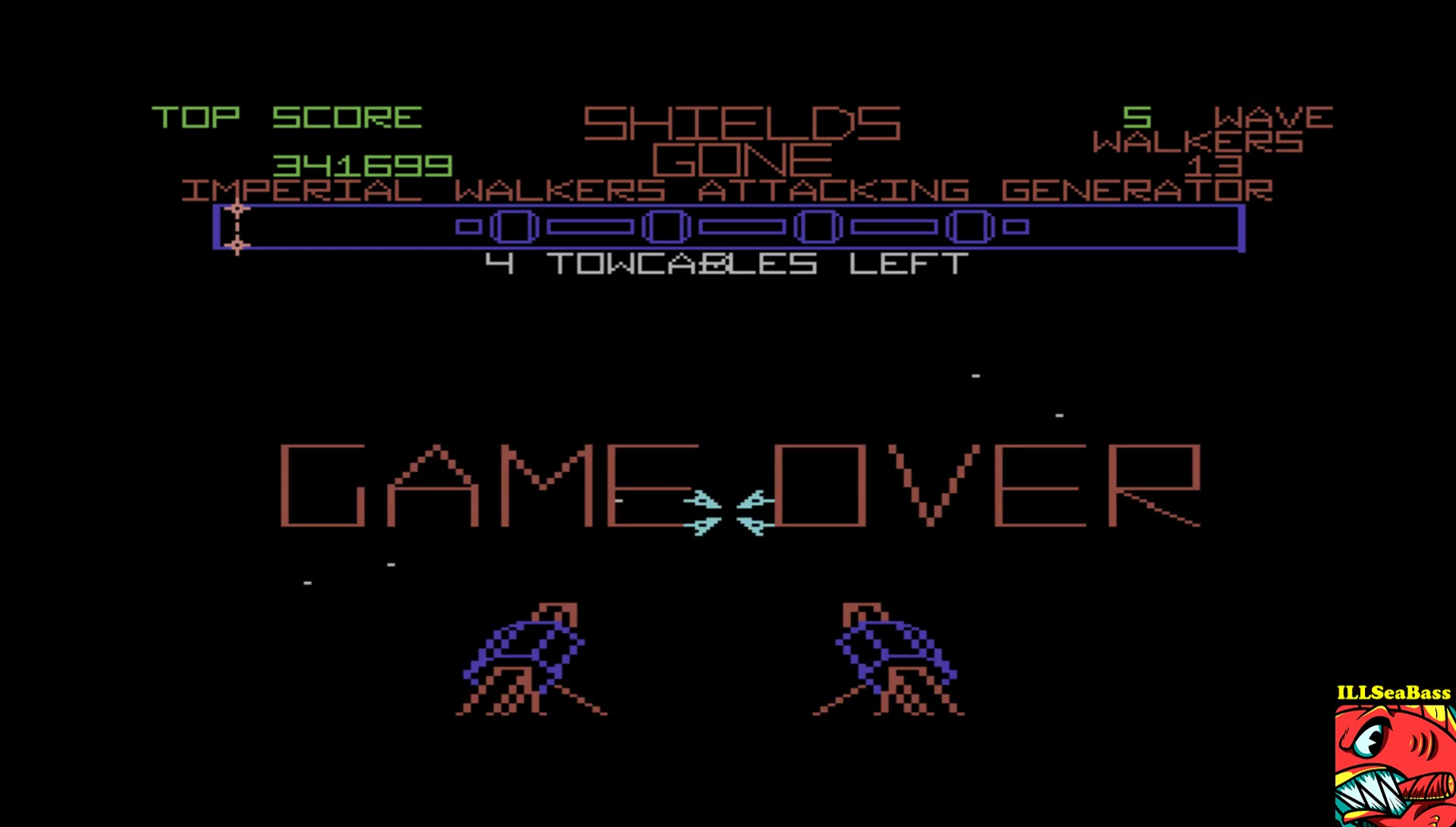 ILLSeaBass: The Empire Strikes Back [Wave 3: Hard] (Commodore 64 Emulated) 341,699 points on 2017-04-27 12:02:25