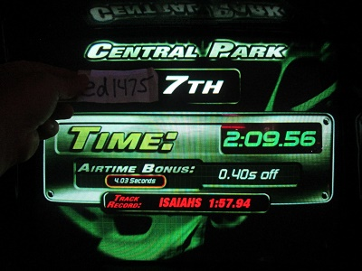 ed1475: The Fast And The Furious: Central Park (Arcade) 0:02:09.56 points on 2018-05-17 23:37:57