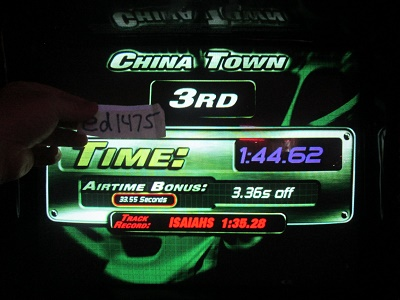 ed1475: The Fast And The Furious: China Town (Arcade) 0:01:44.62 points on 2018-05-17 23:34:12