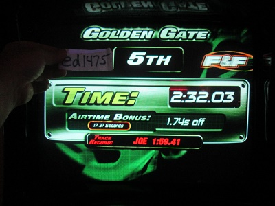 ed1475: The Fast And The Furious: Golden Gate (Arcade) 0:02:32.03 points on 2018-05-17 23:42:38