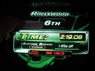 ed1475: The Fast And The Furious: Hollywood (Arcade) 0:02:19.08 points on 2018-05-17 23:47:16